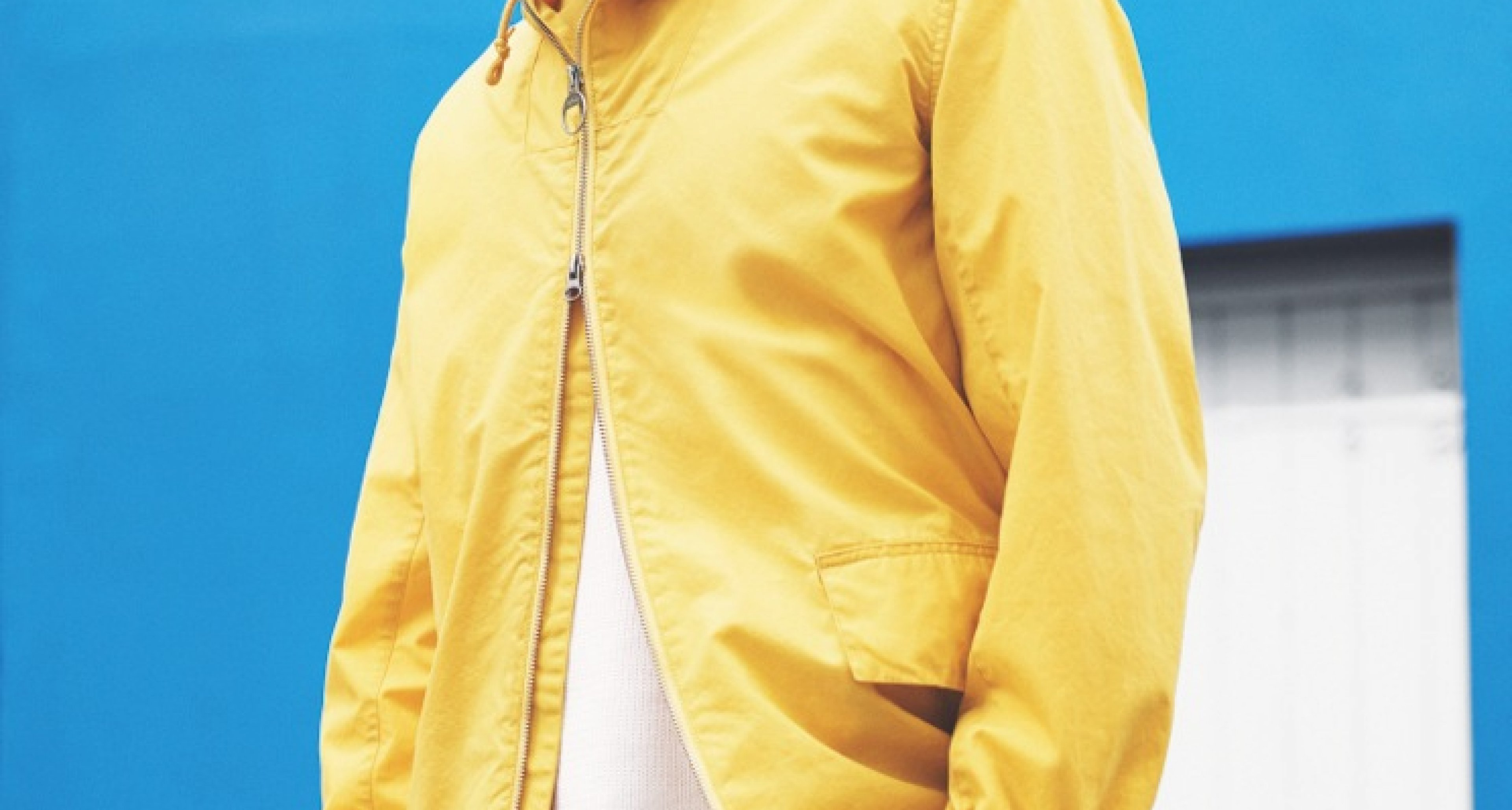 Yellow not mellow! The Seaboard jacket of the Barbour x Norton & Sons Beacon Collection