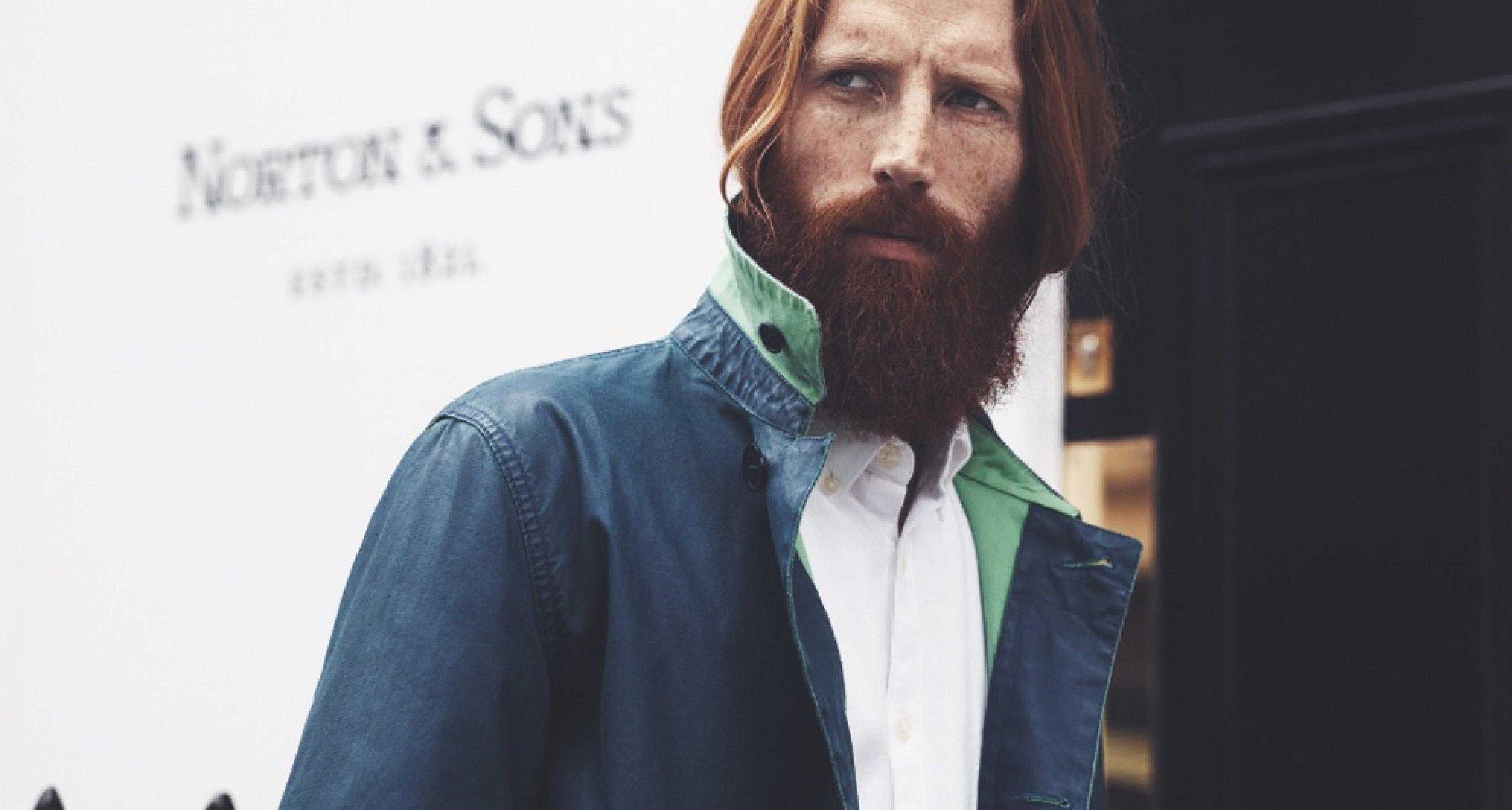 Blau ist das neue Grün! Barbour x Norton & Sons The Beacon Collection