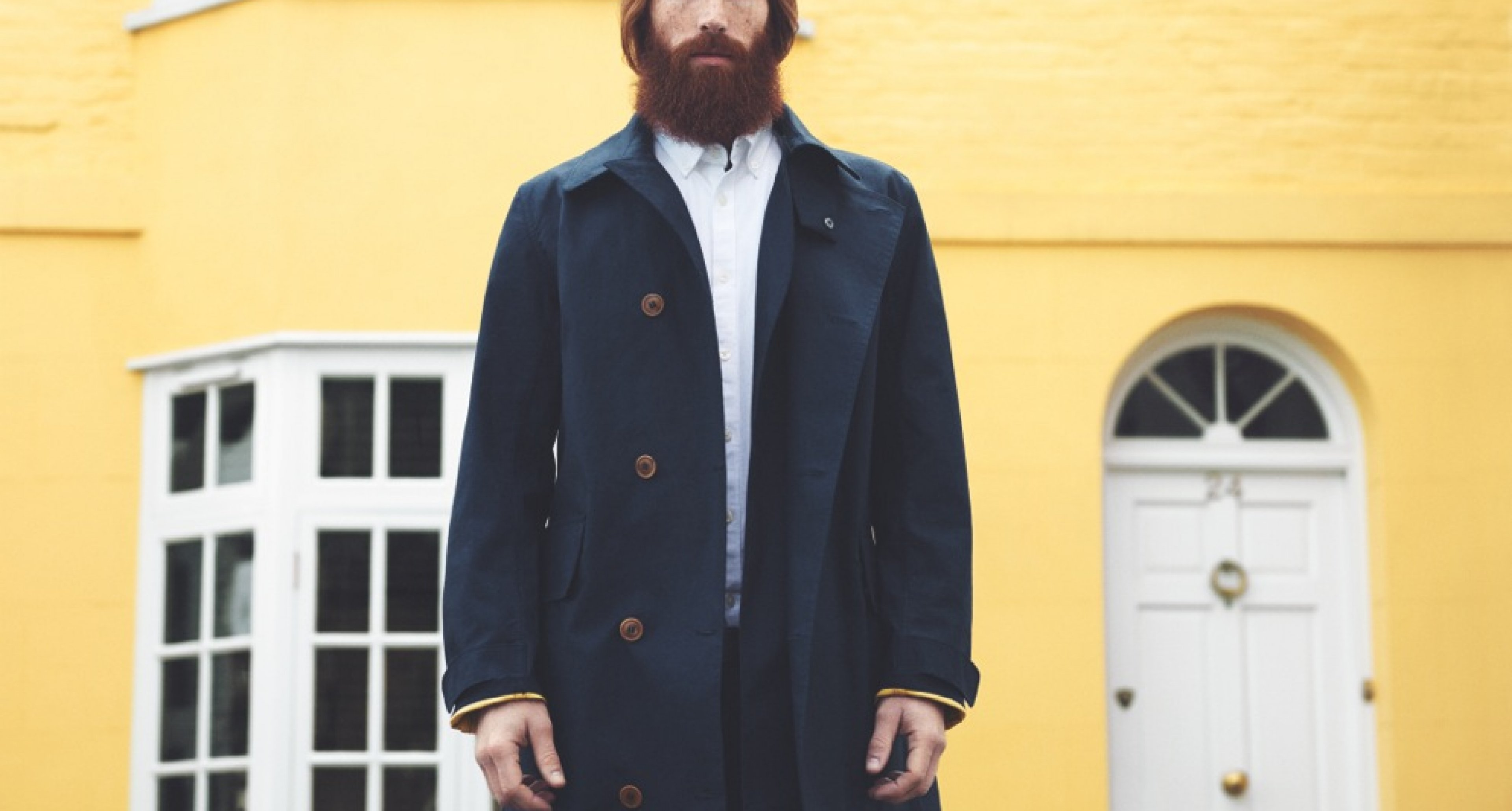 The Stanhope coat of the Barbour x Norton & Sons Beacon Collection