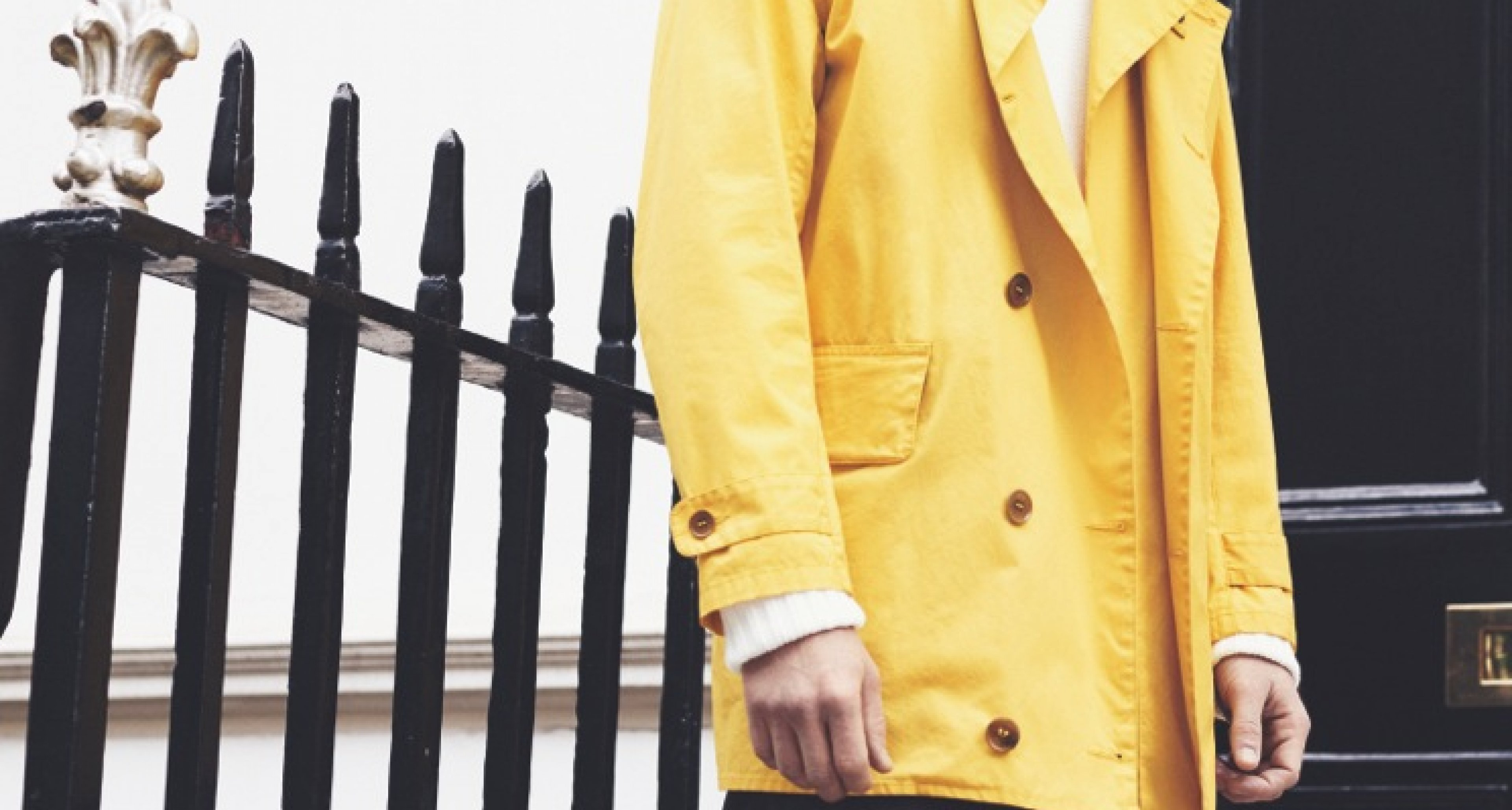 Yellow not mellow! The Barbour x Norton & Sons Beacon Collection