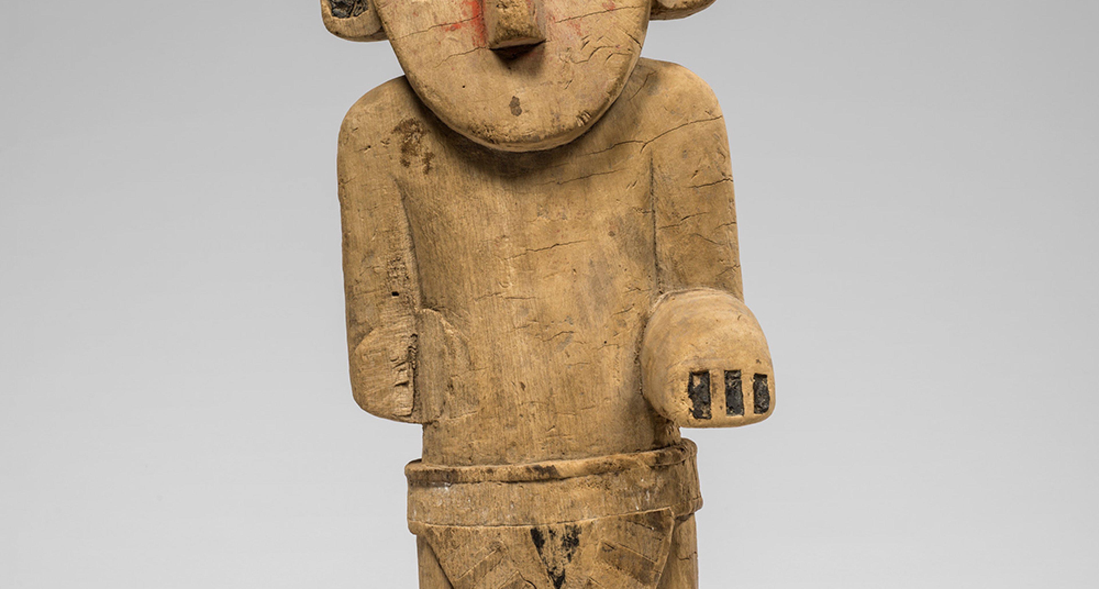 Culture Chimu, Pérou Statuette. © Musées royaux d'Art et d'Histoire, Bruxelles