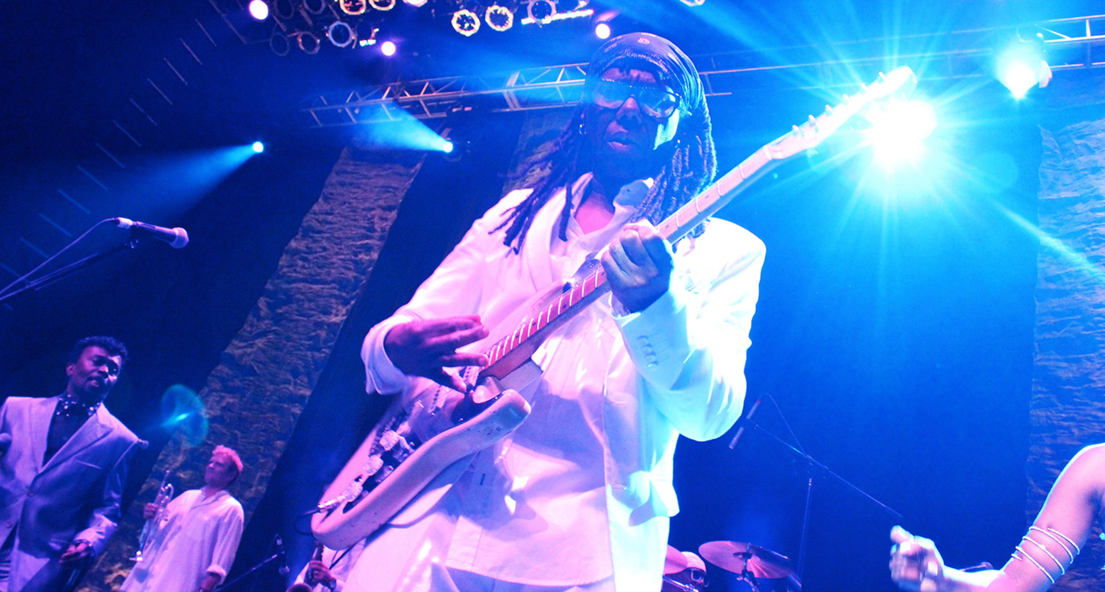 Nile Rodgers and his famous Stratocaster