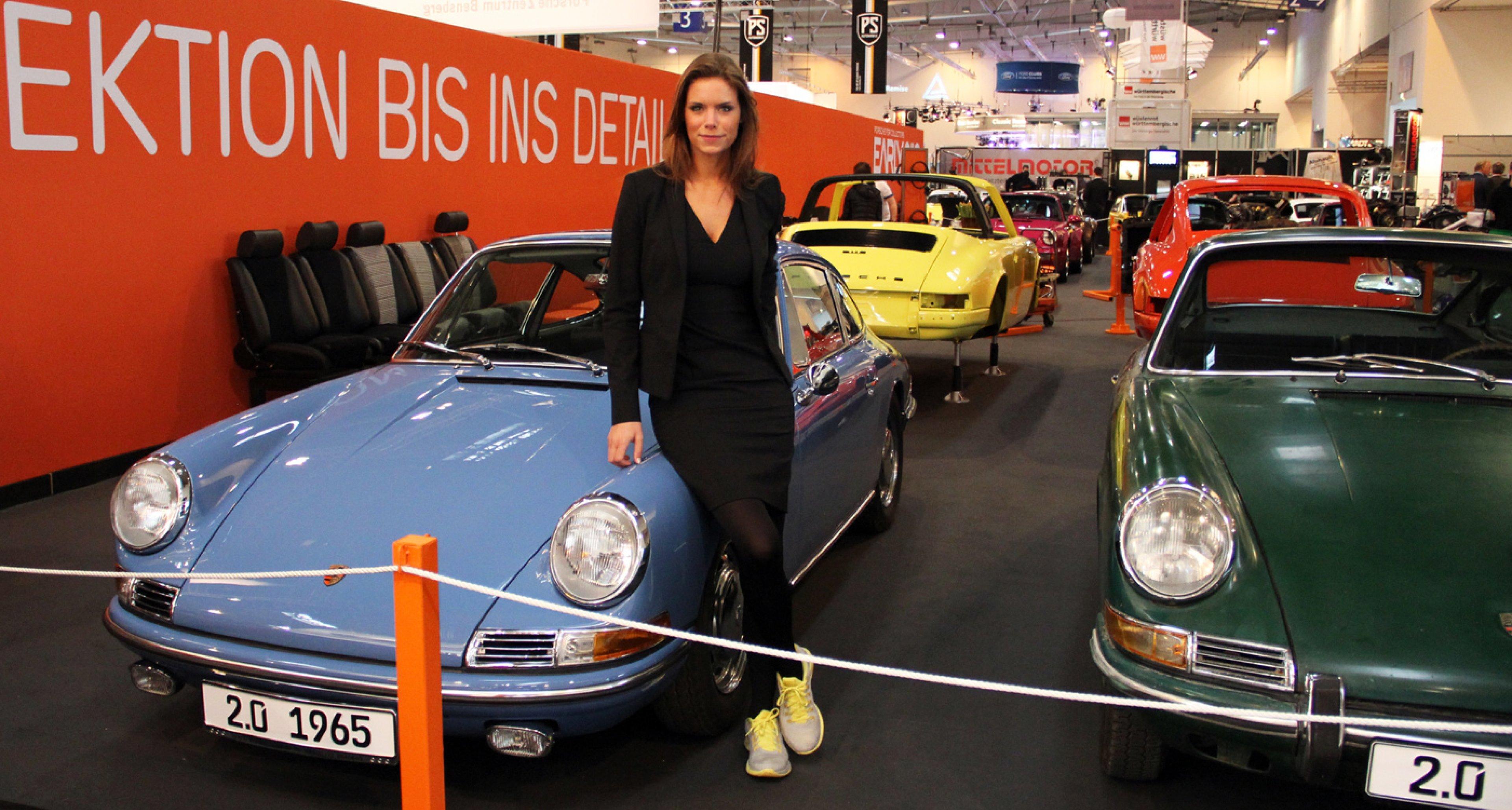 Techno Classica Essen 2014: Porsche 911 Classic on the Early 911S stand