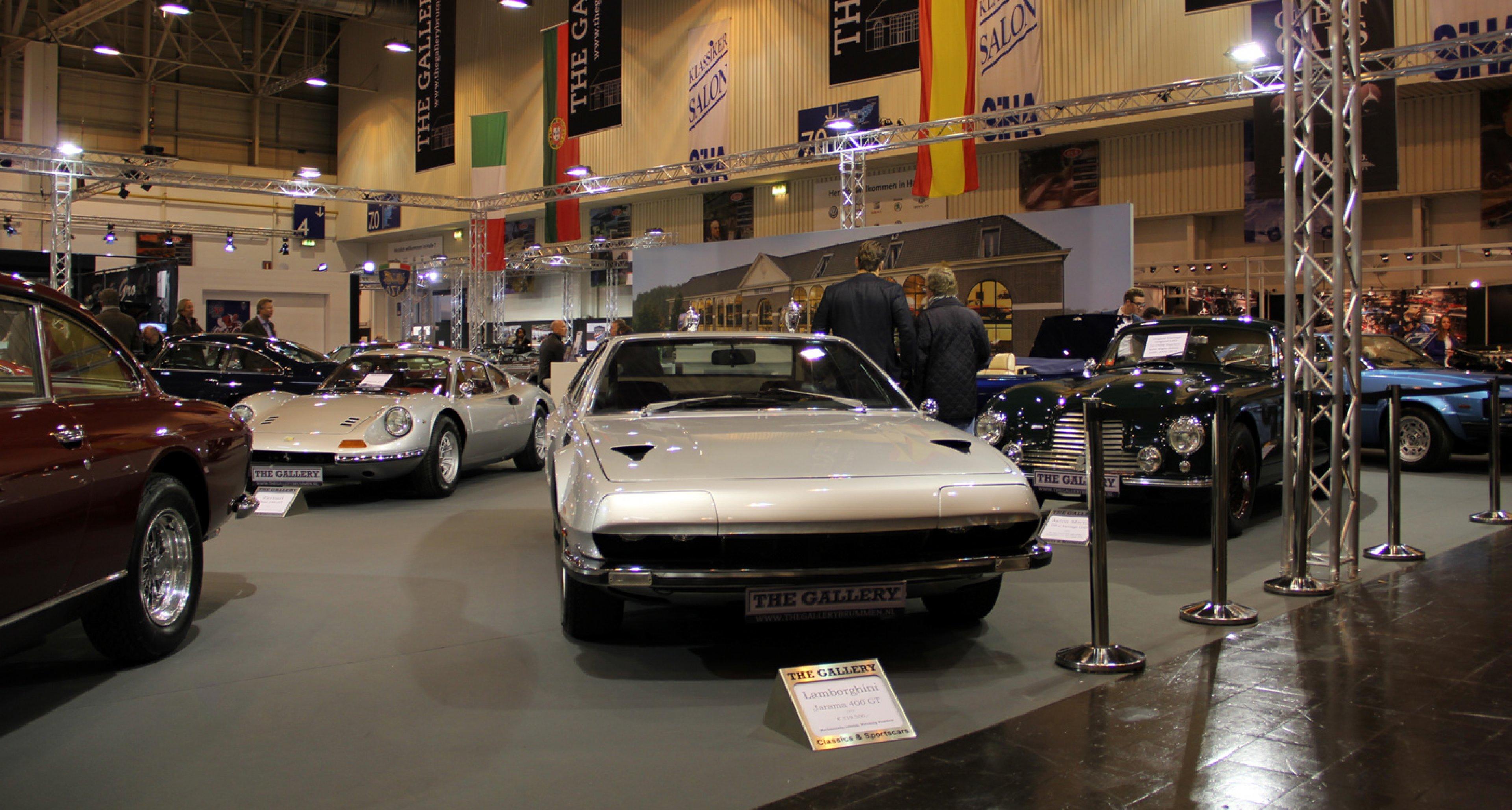 Techno Classica Essen 2014: Lamborghini Jarama 400 GT from The Gallery