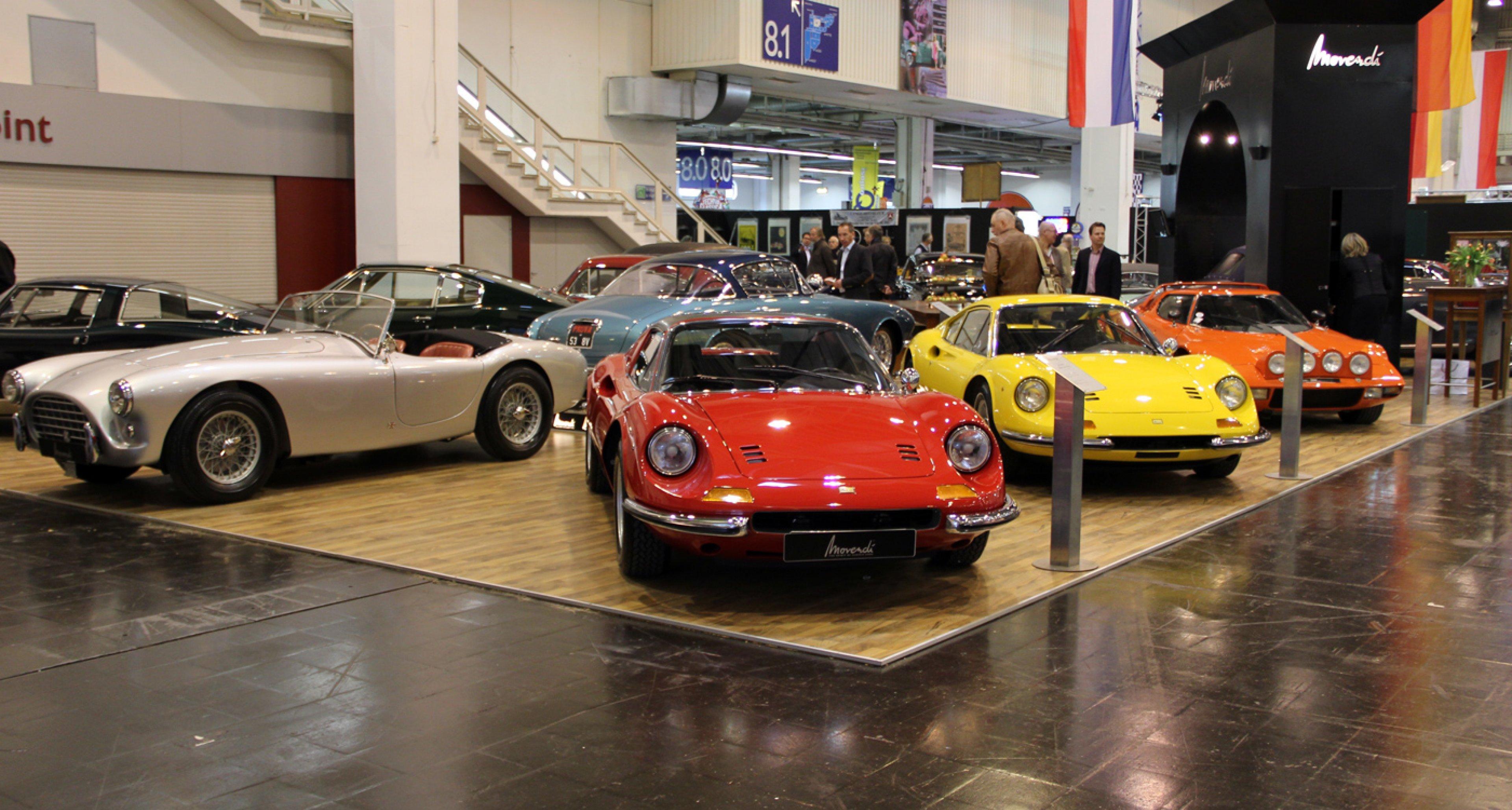 Techno Classica Essen 2014:  Ferrari Dino 246 GT on the Movendi stand