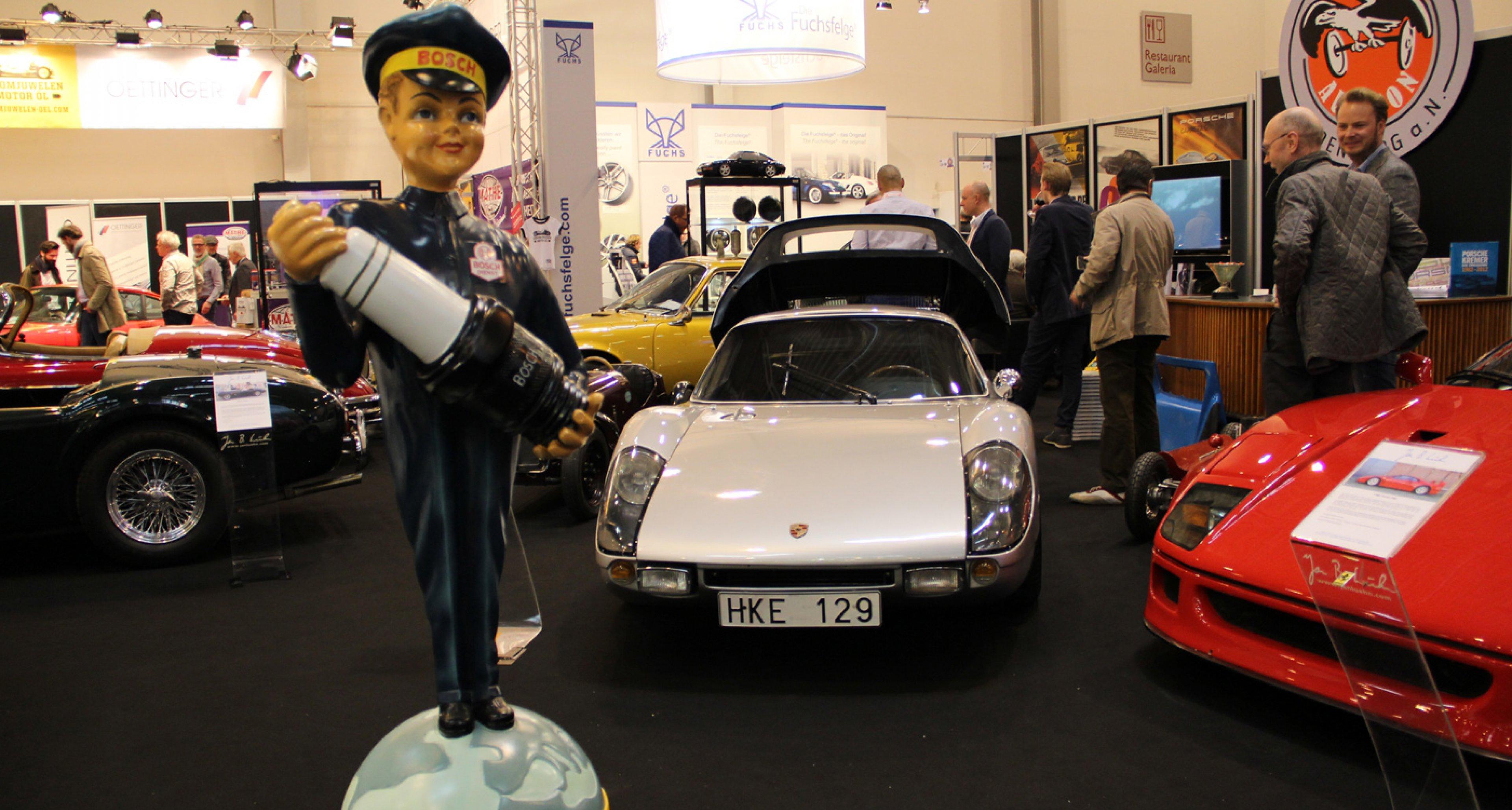 Techno Classica Essen 2014: Porsche 904 on the Jan B. Lühn stand