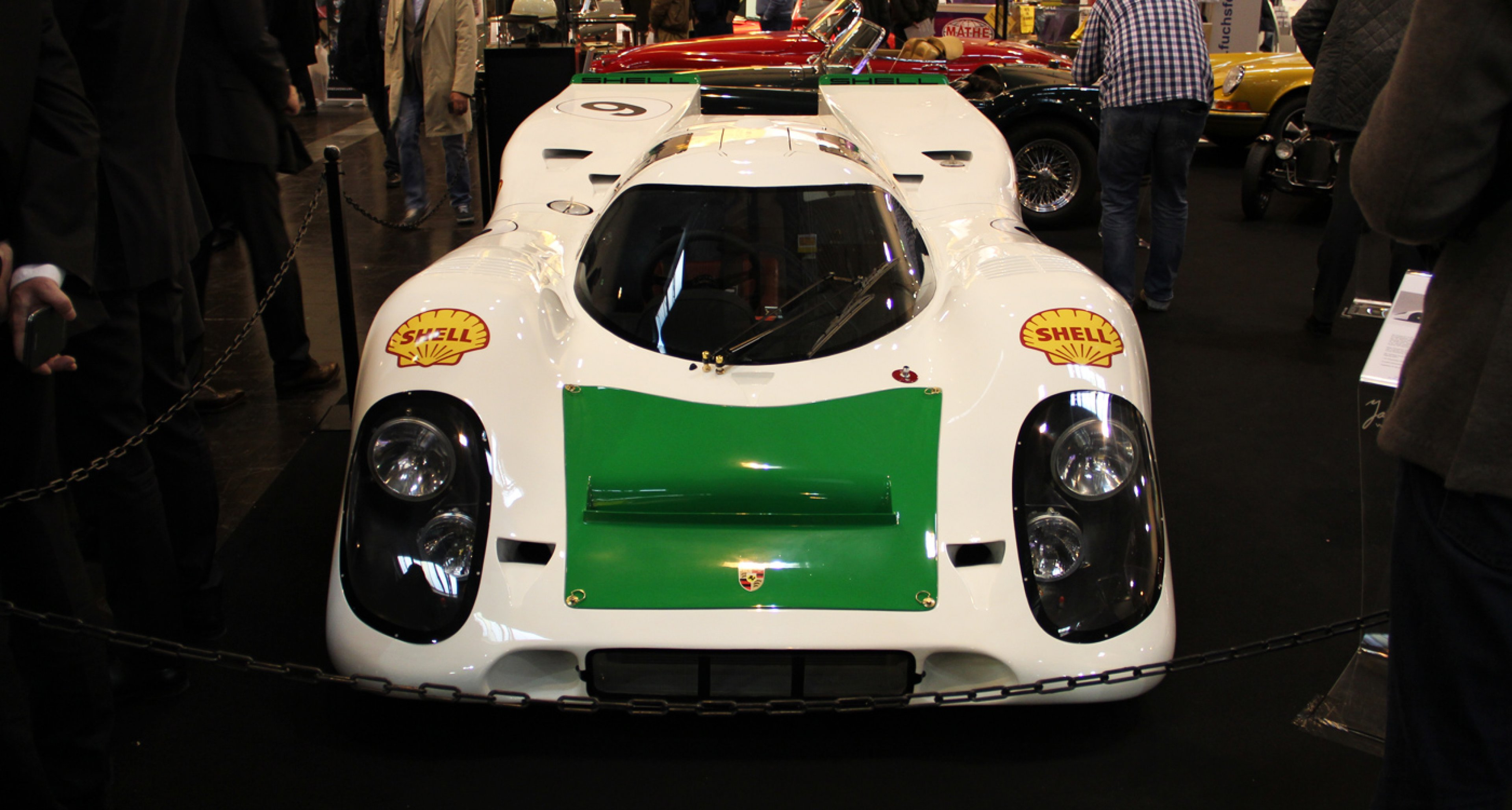 Techno Classica Essen 2014: Porsche 917K on the Jan B. Lühn stand