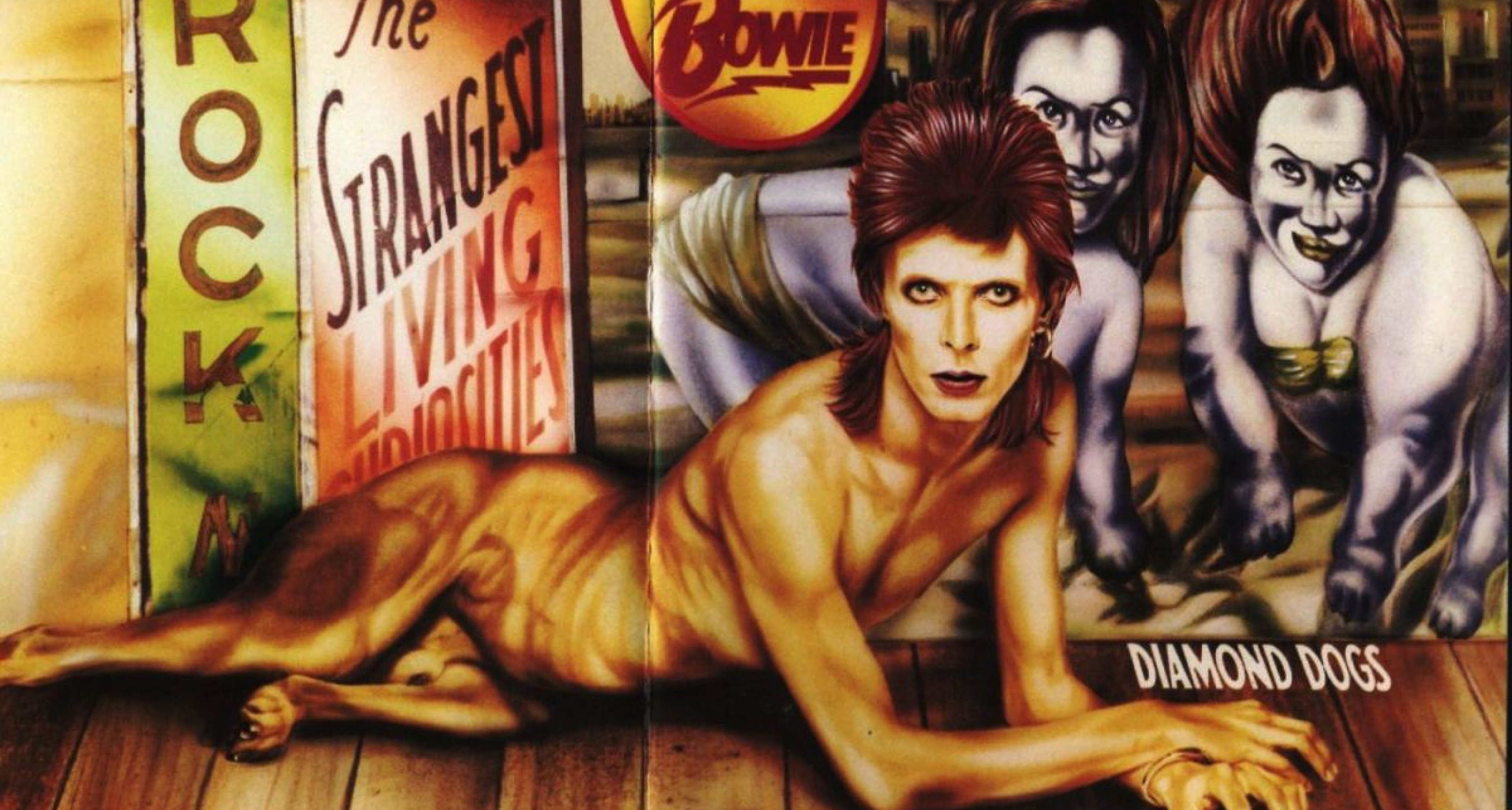 Diamond Dogs, by David Bowie