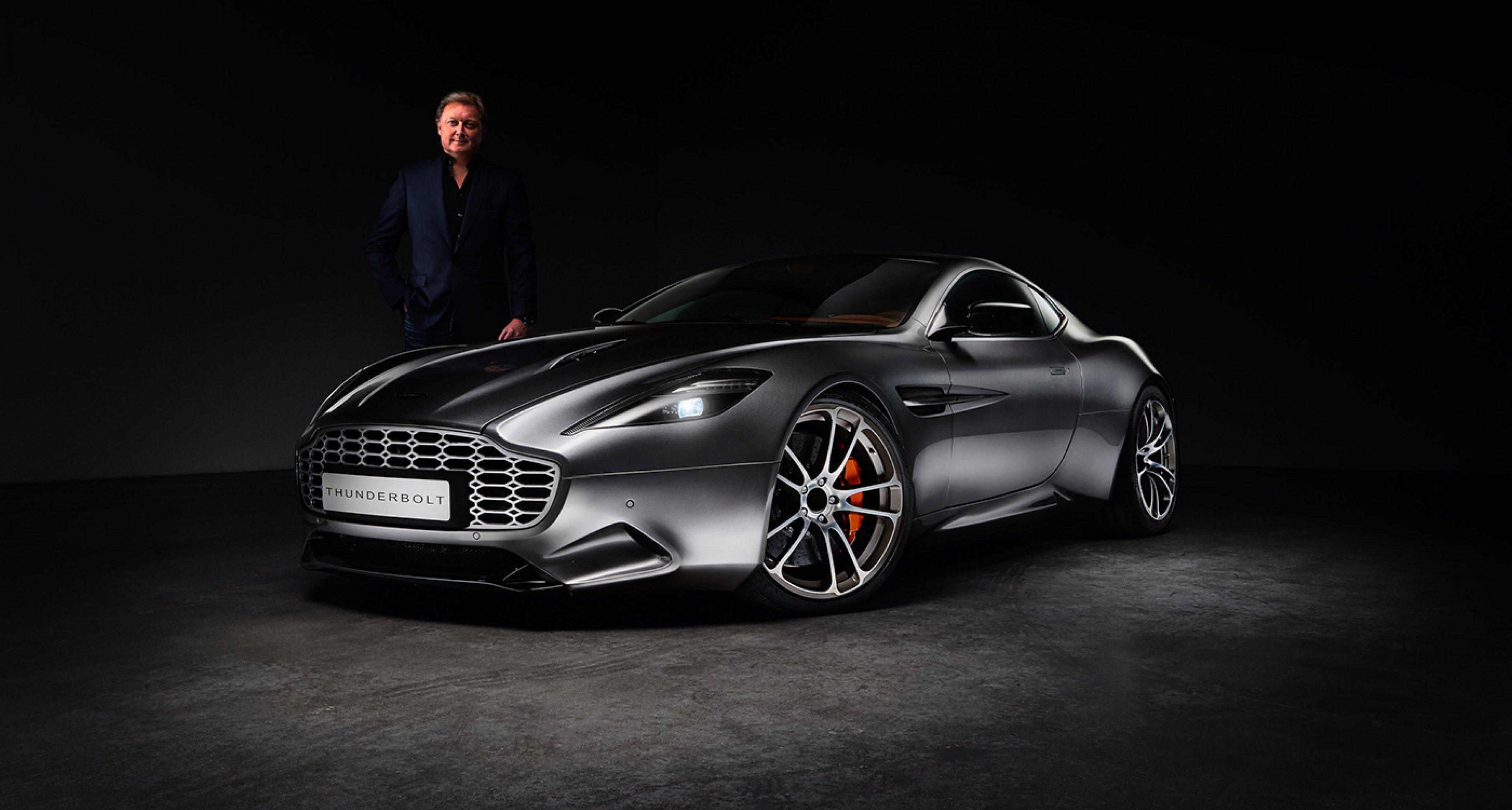 Fisker S Thunderbolt Is A Re Designed Aston Martin Vanquish Classic Driver Magazine
