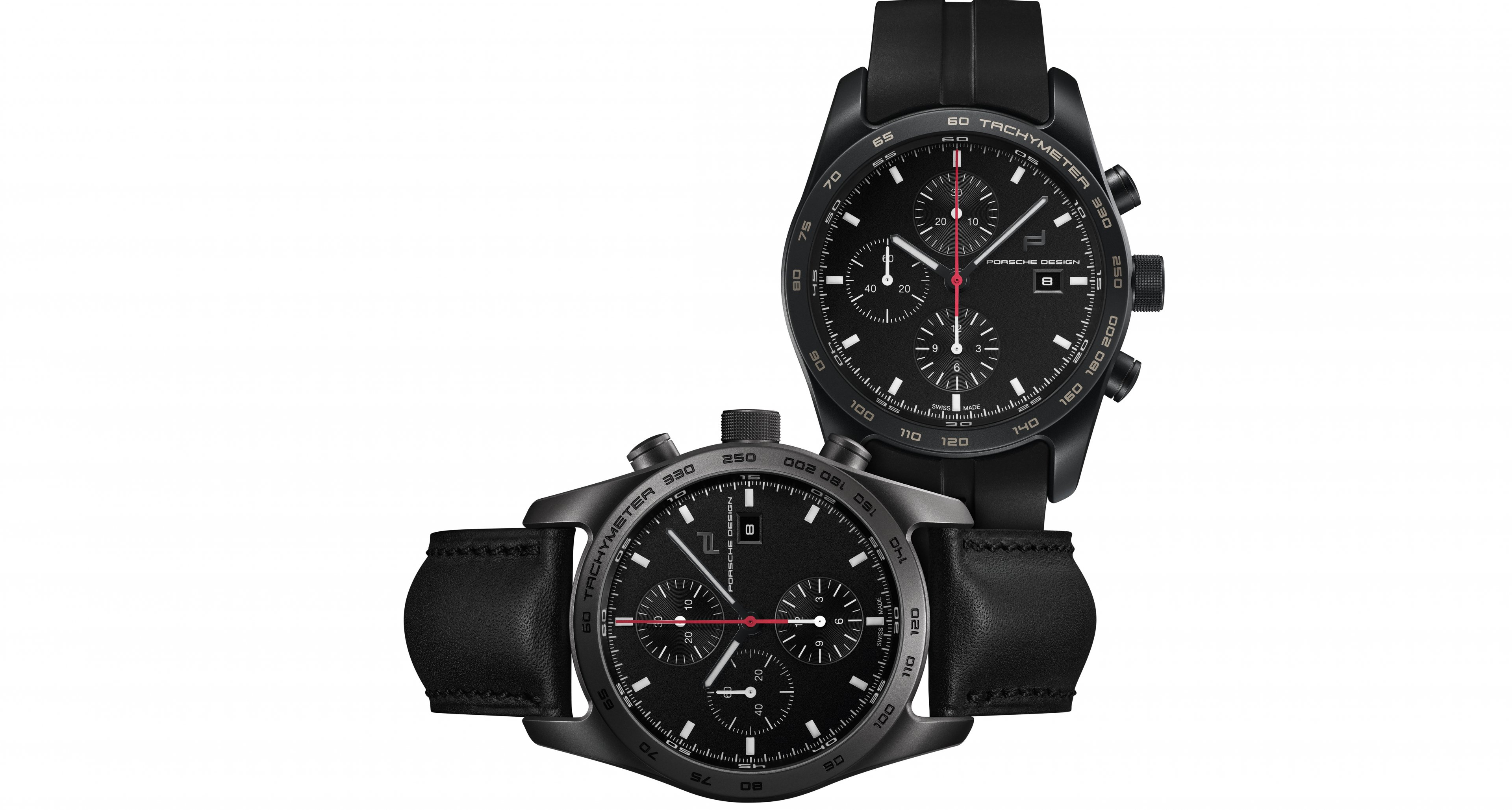 Porsche Design Timepiece No.1 in black and titan