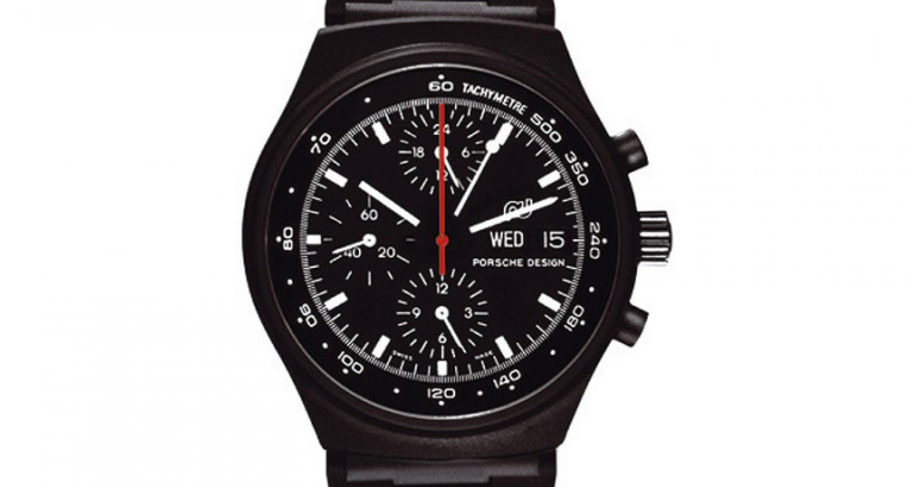 The grandfather of the modern Porsche Design Timepieces the 1975 Chrono 1 the frist black watch