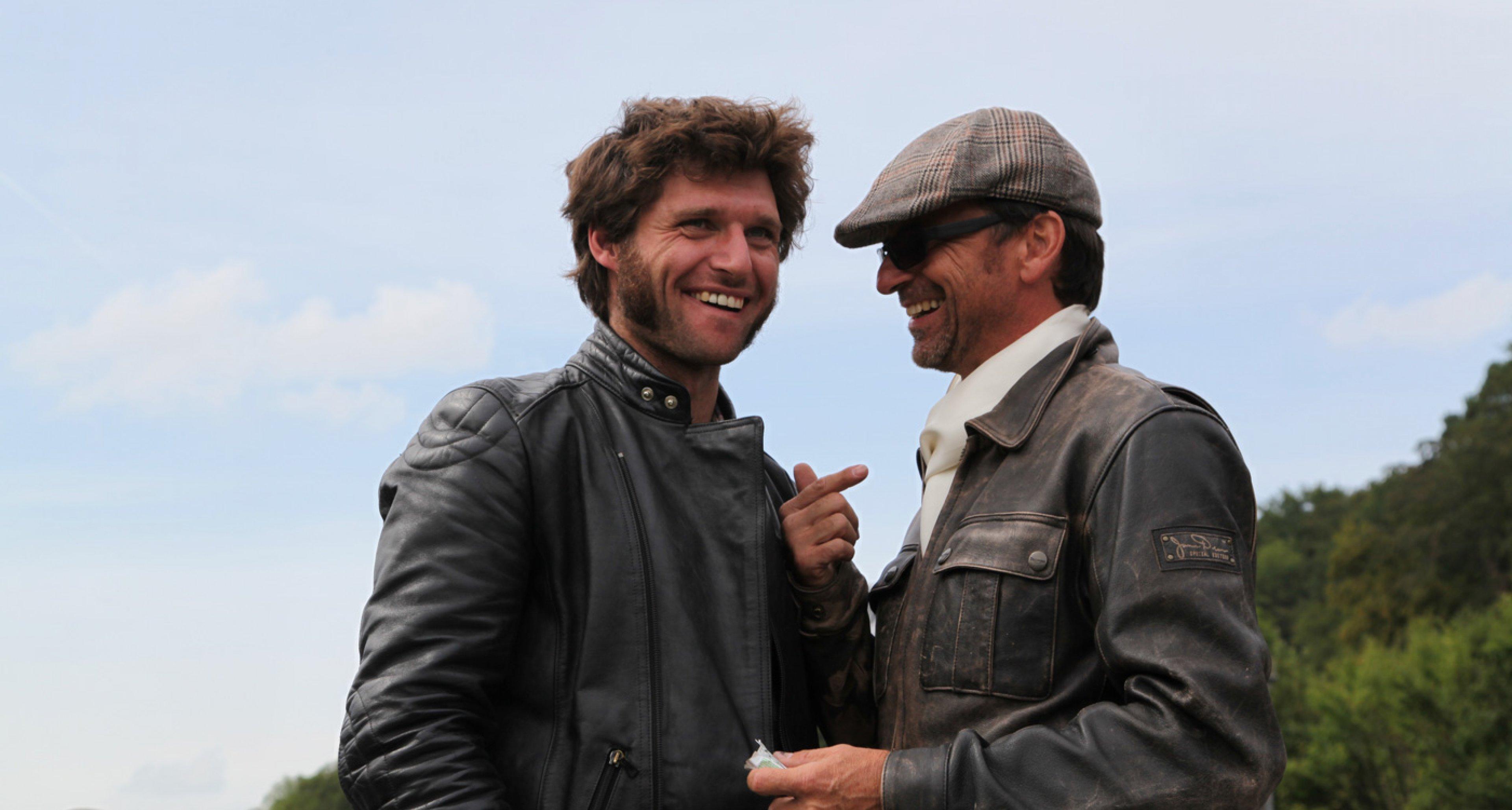 Guy Martin and Tobias Aichele