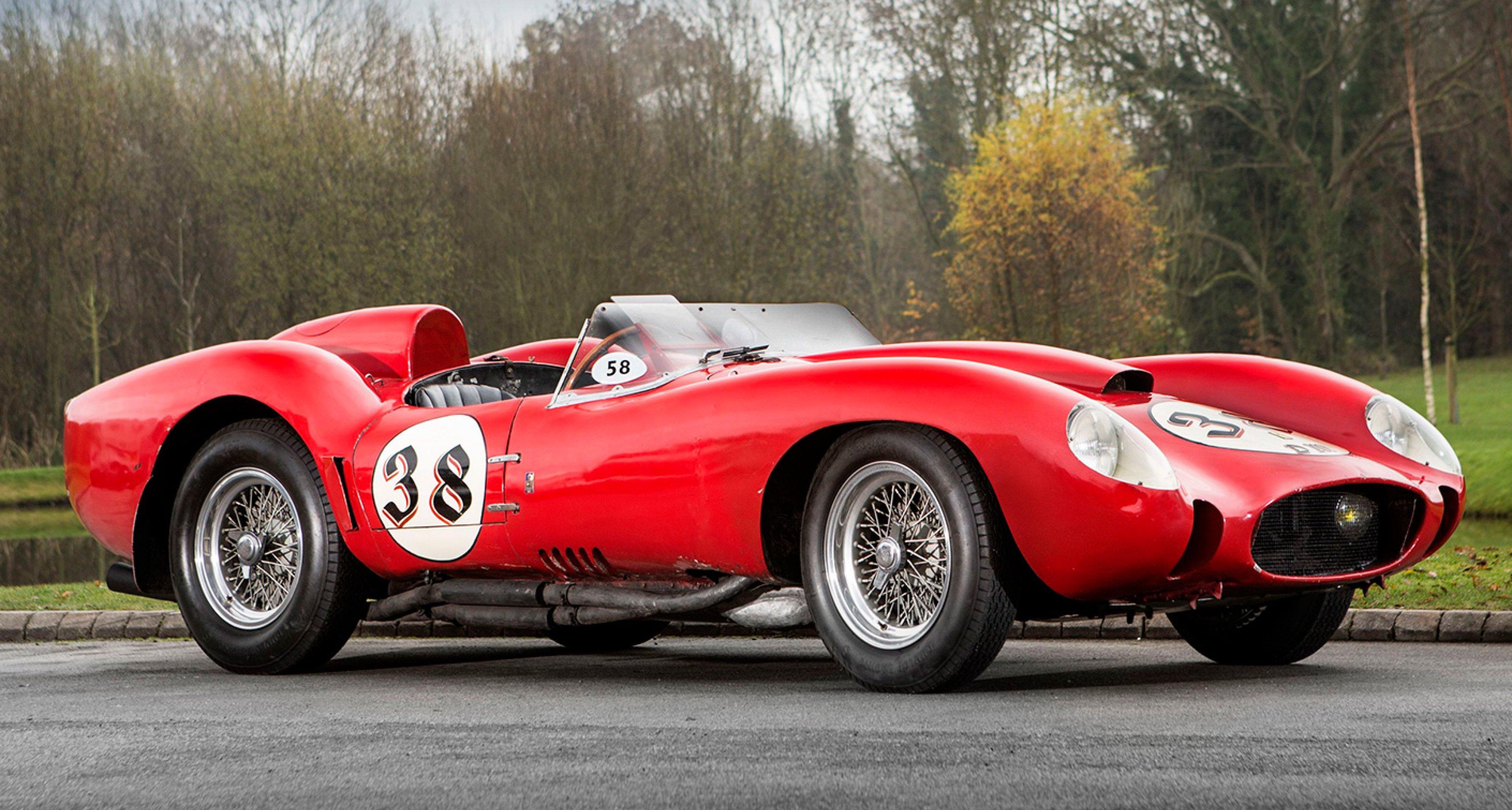 Tom Hartley Sells 1957 Ferrari Testa Rossa For World Record