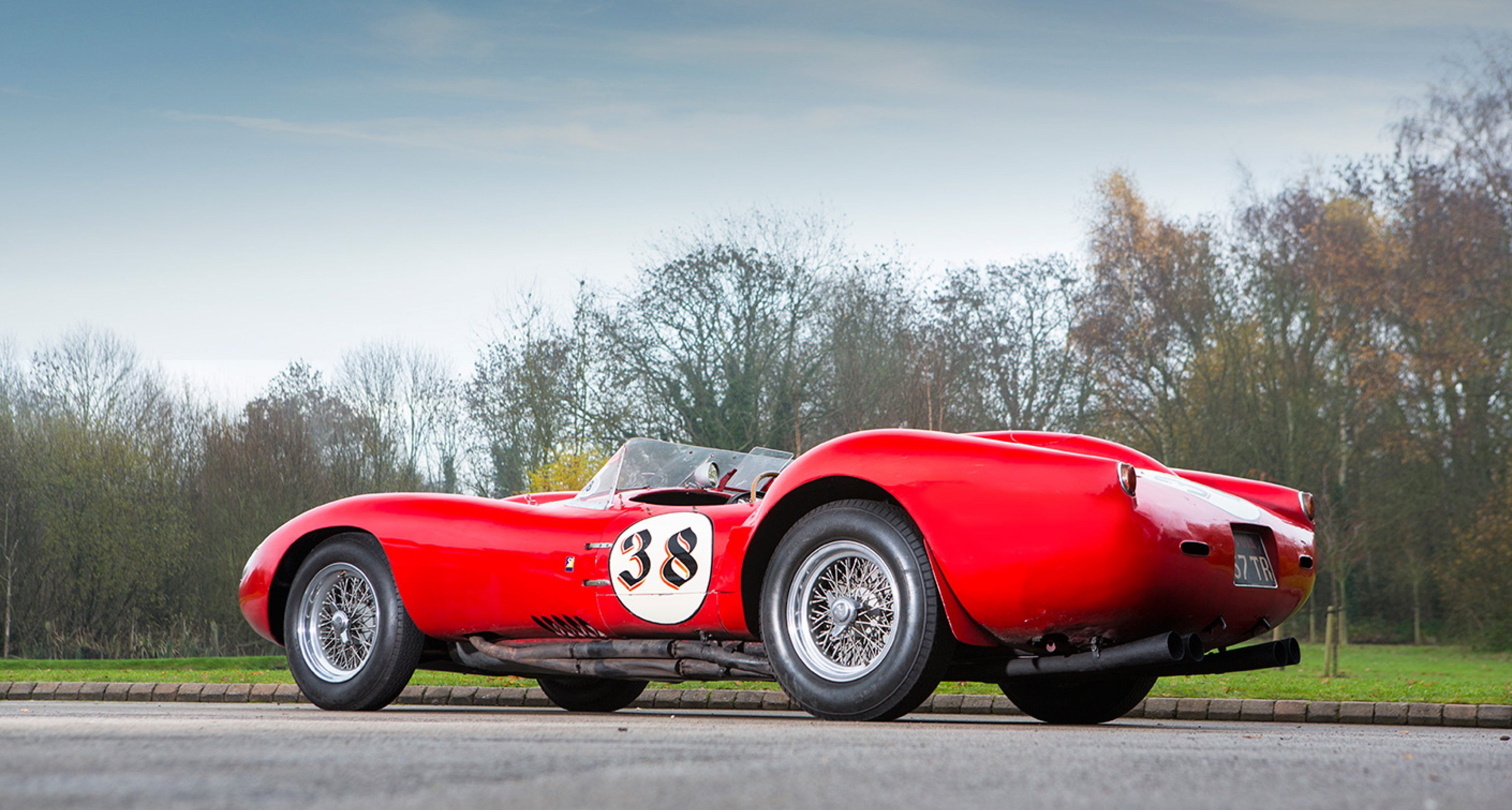 Tom Hartley Sells 1957 Ferrari Testa Rossa For World Record Price Classic Driver Magazine