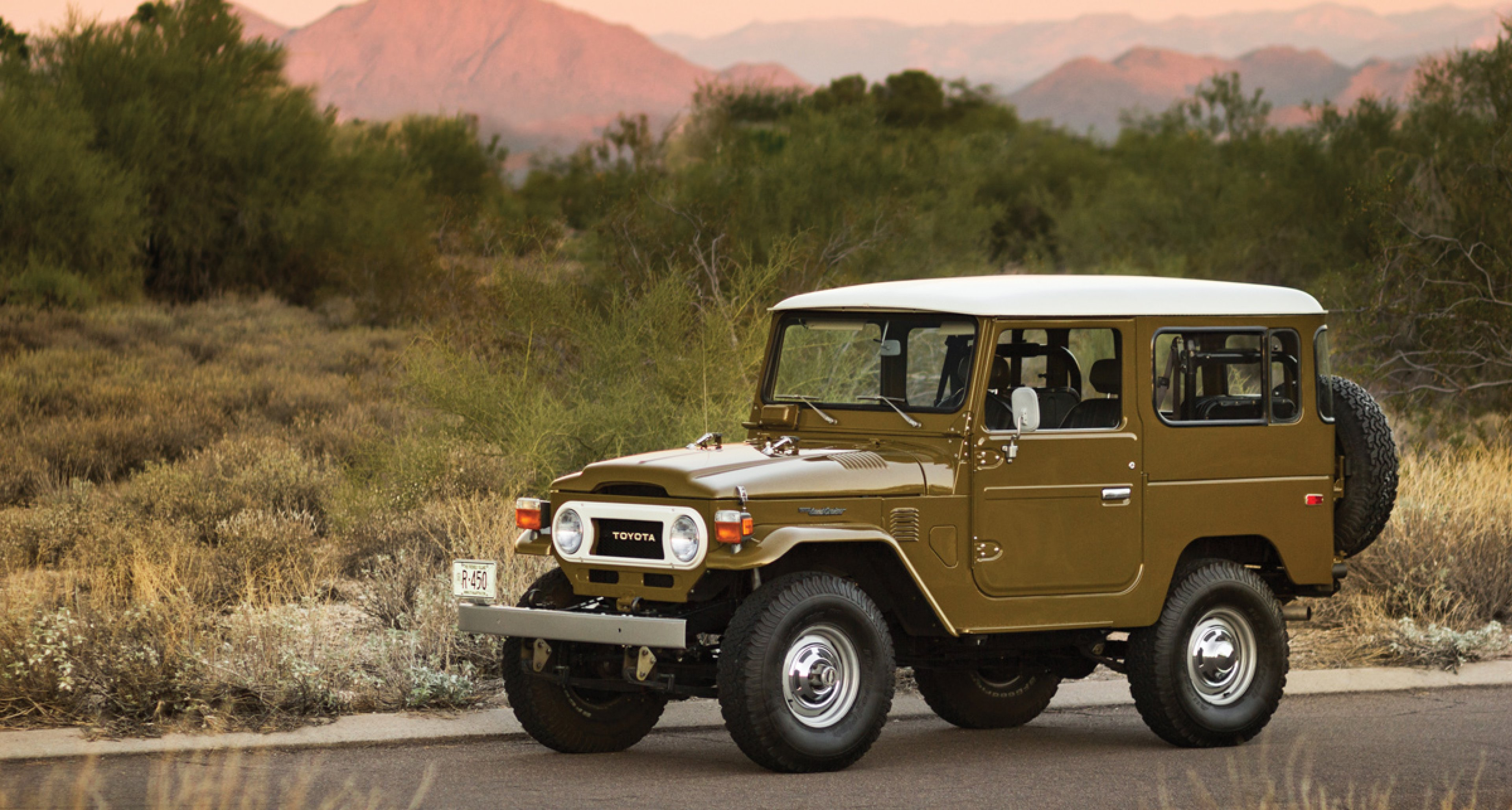 Awesome RM Auctions: 1977 Toyota Land Cruiser FJ40 (USD 65.000   85.000) ...