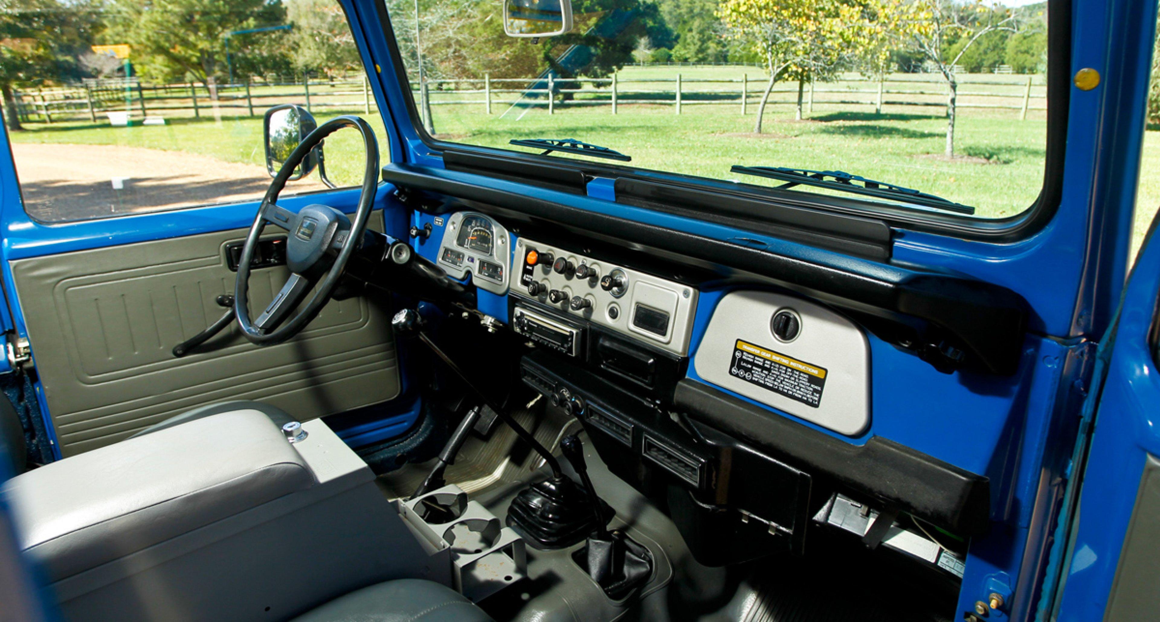 Gooding & Company: 1983 Toyota Land Crusier FJ40 (USD 40.000 - 60.000)