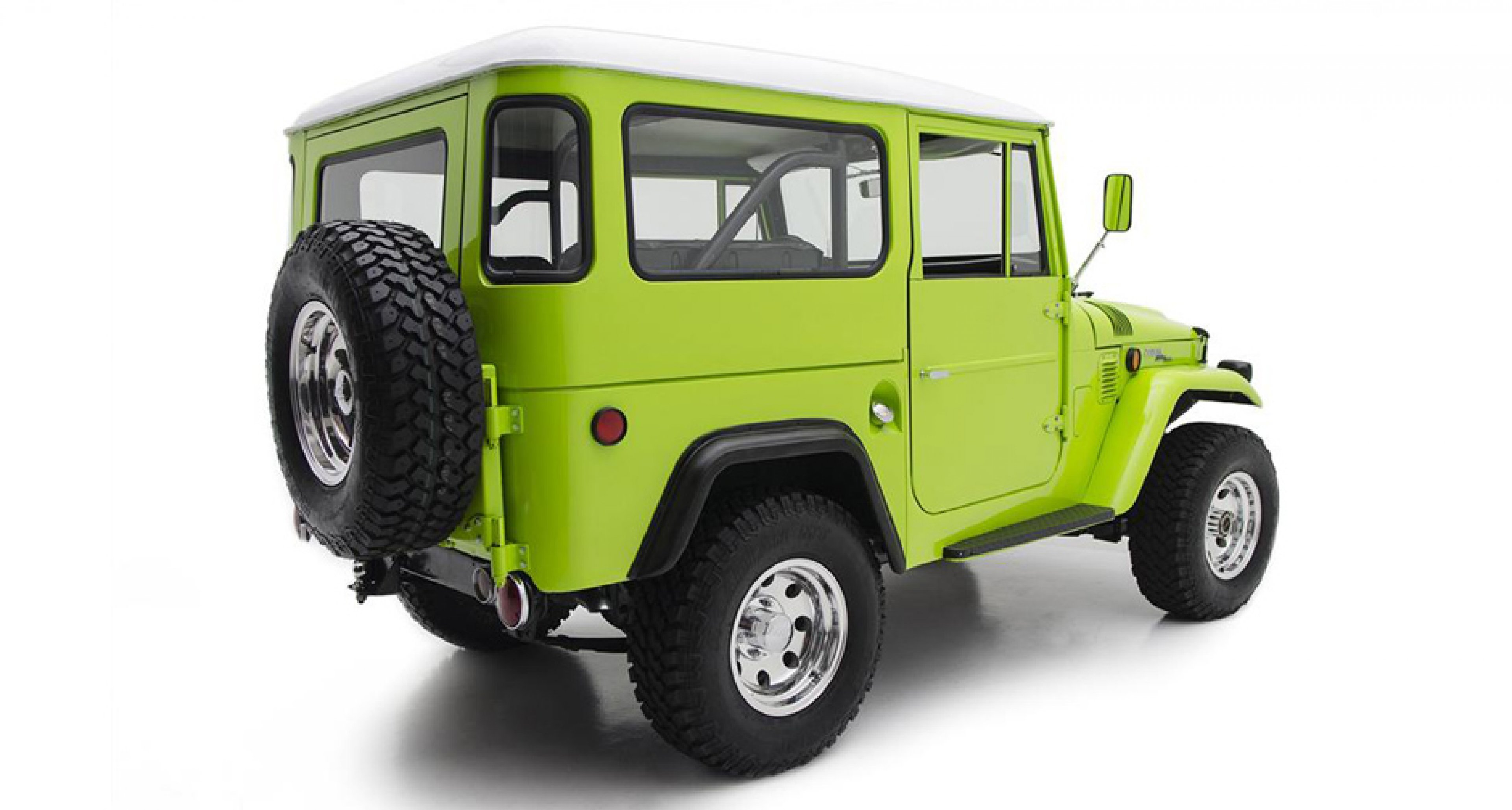 Barrett Jackson: 1969 Toyota Land Cruiser FJ40 Custom