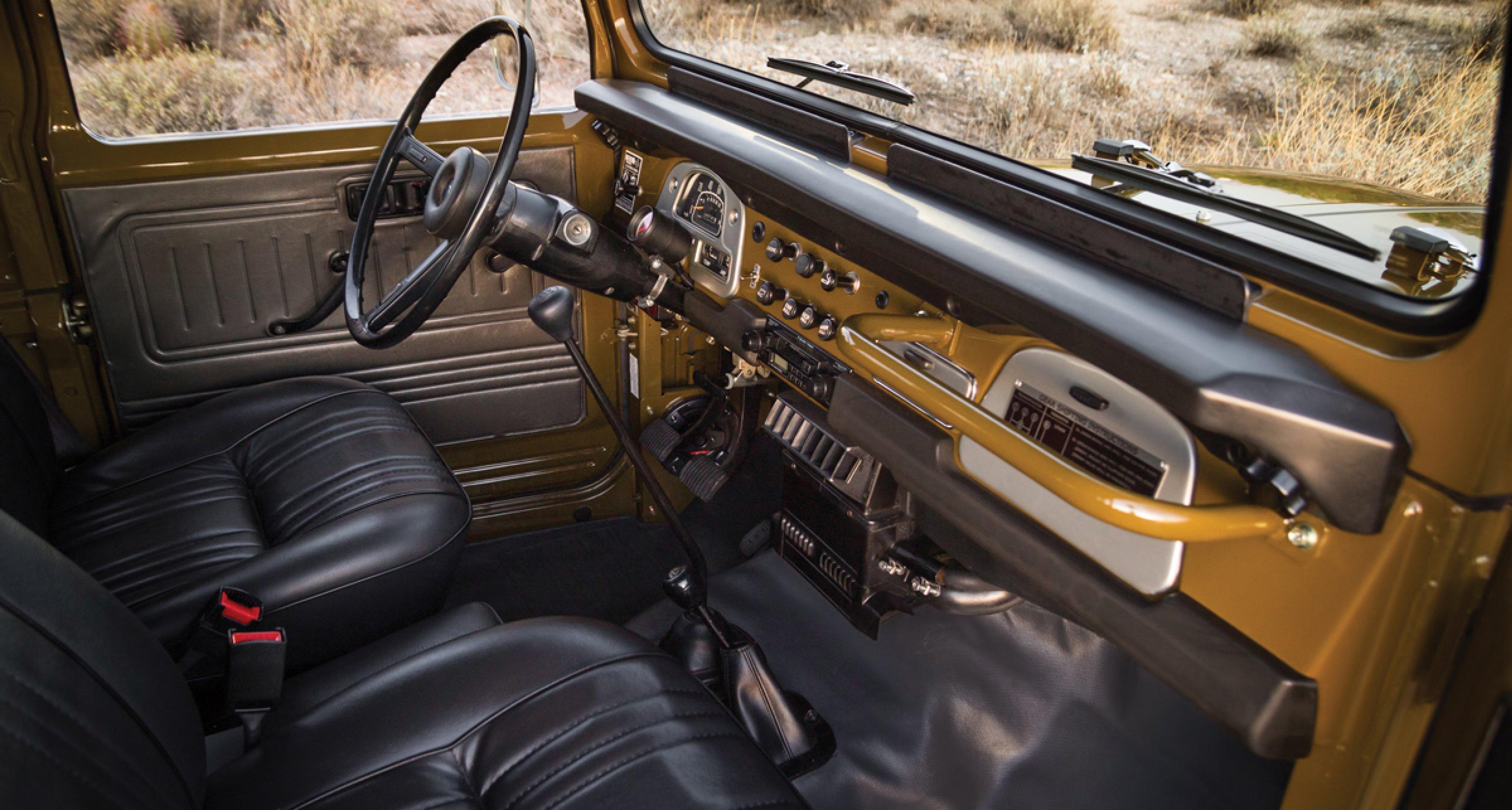 RM Auctions: 1977 Toyota Land Cruiser FJ40 (USD 65.000 - 85.000)