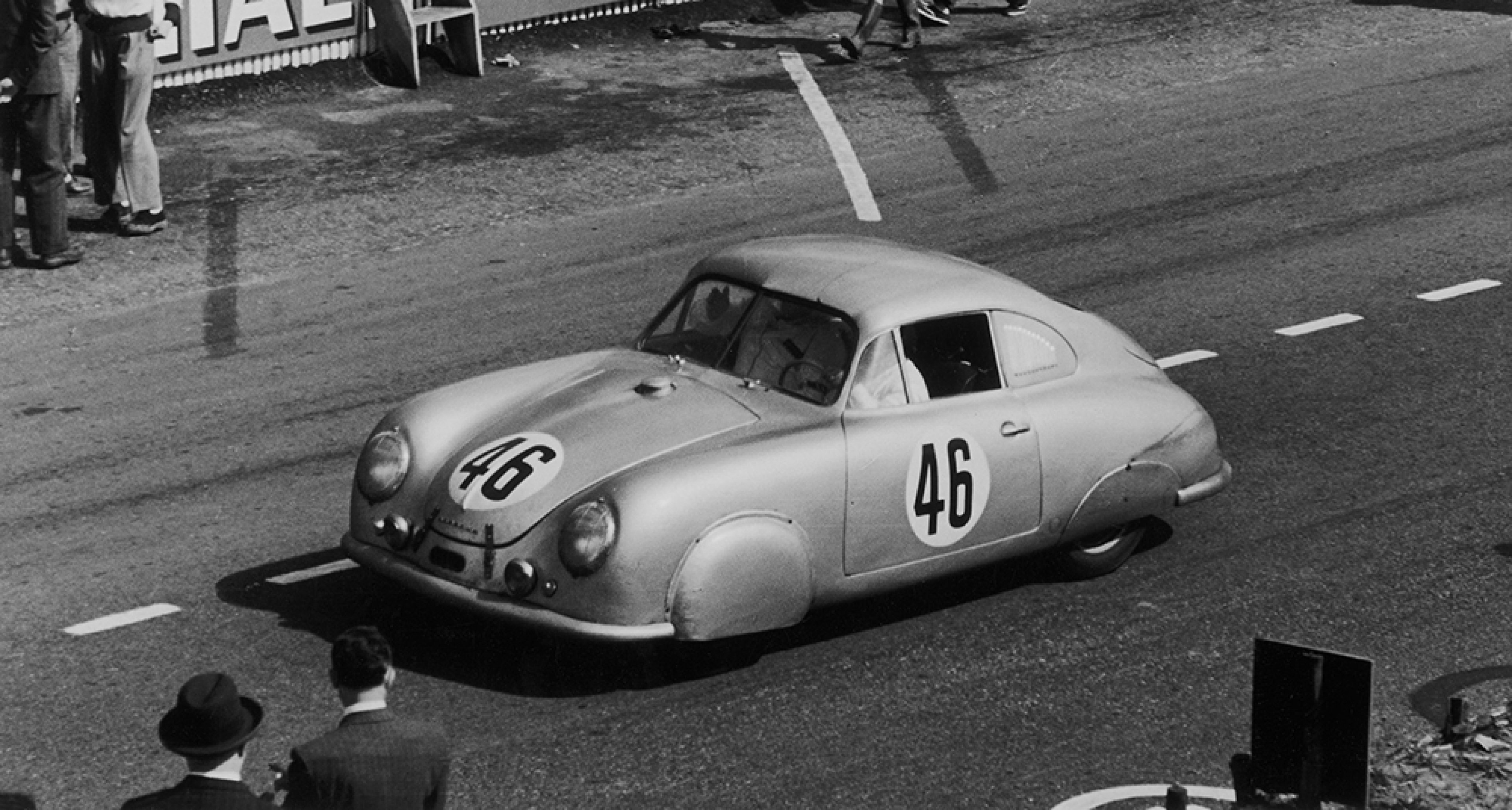 A Hollywood comeback for the Le Mans,winning Porsche 356