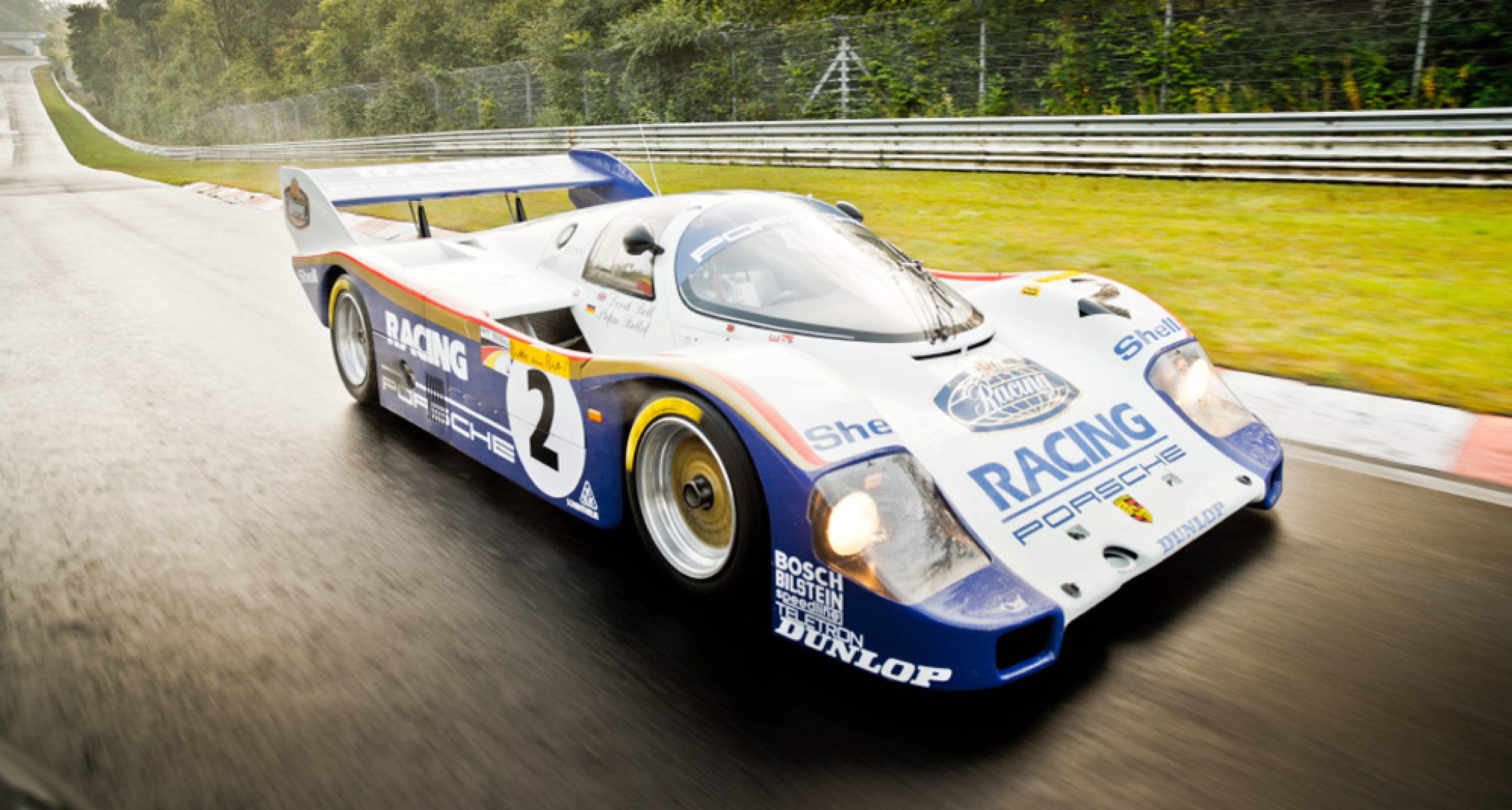 Nürburgring Record Hunters At Dawn Porsche 956 And 918 Spyder Clic Driver Magazine