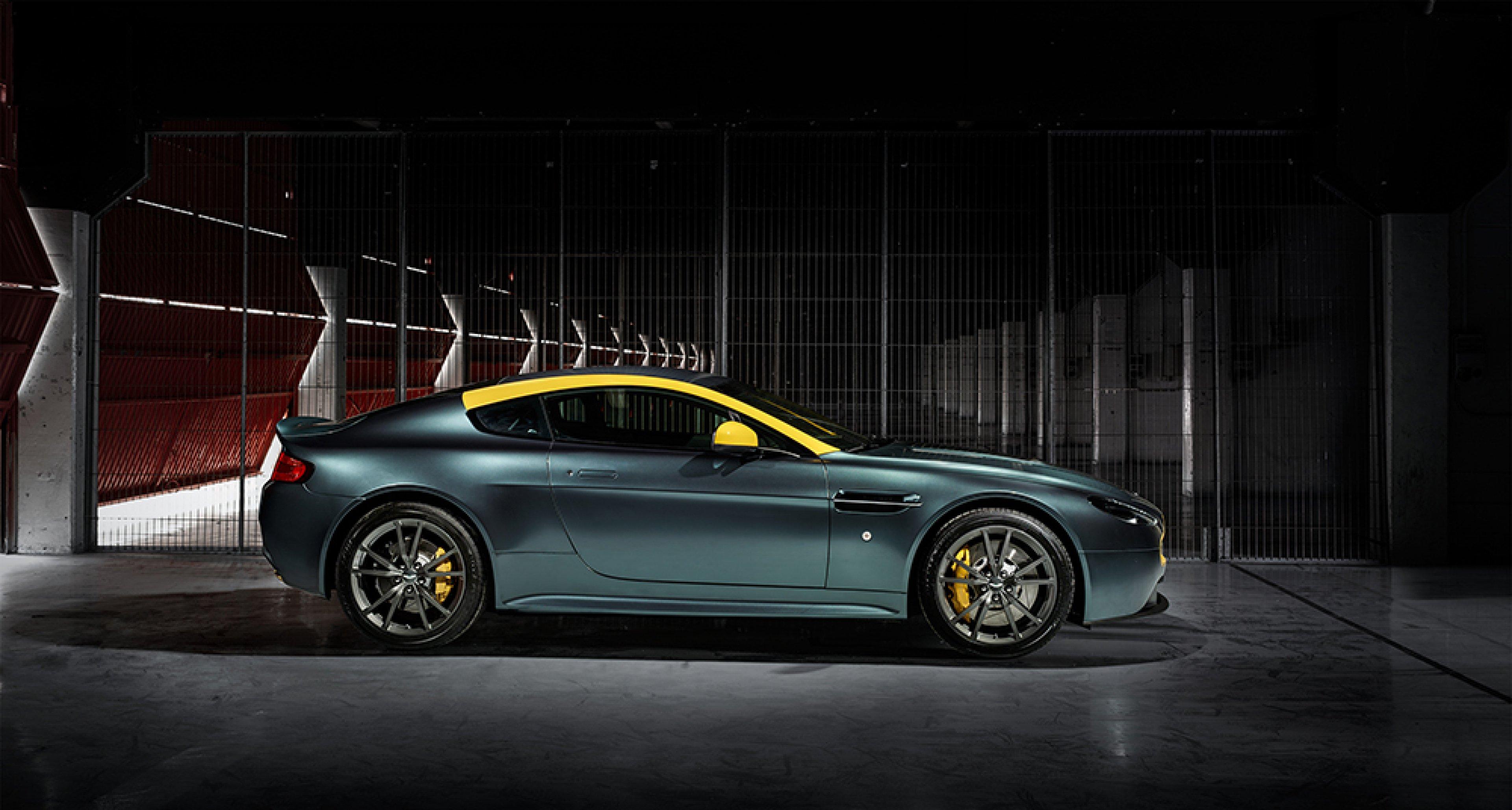 Aston Martin V8 Vantage N430 Smells Like Racing Spirit Classic Driver Magazine