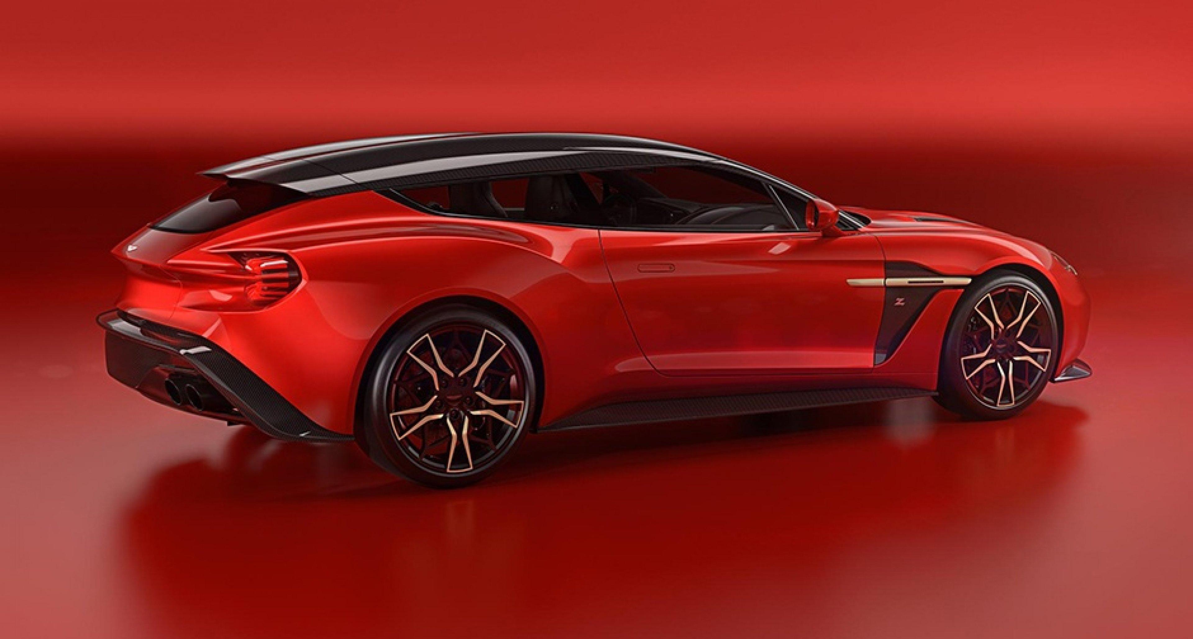 Aston Martin Enthüllt Den Vanquish Zagato Shooting Brake Classic Driver Magazine