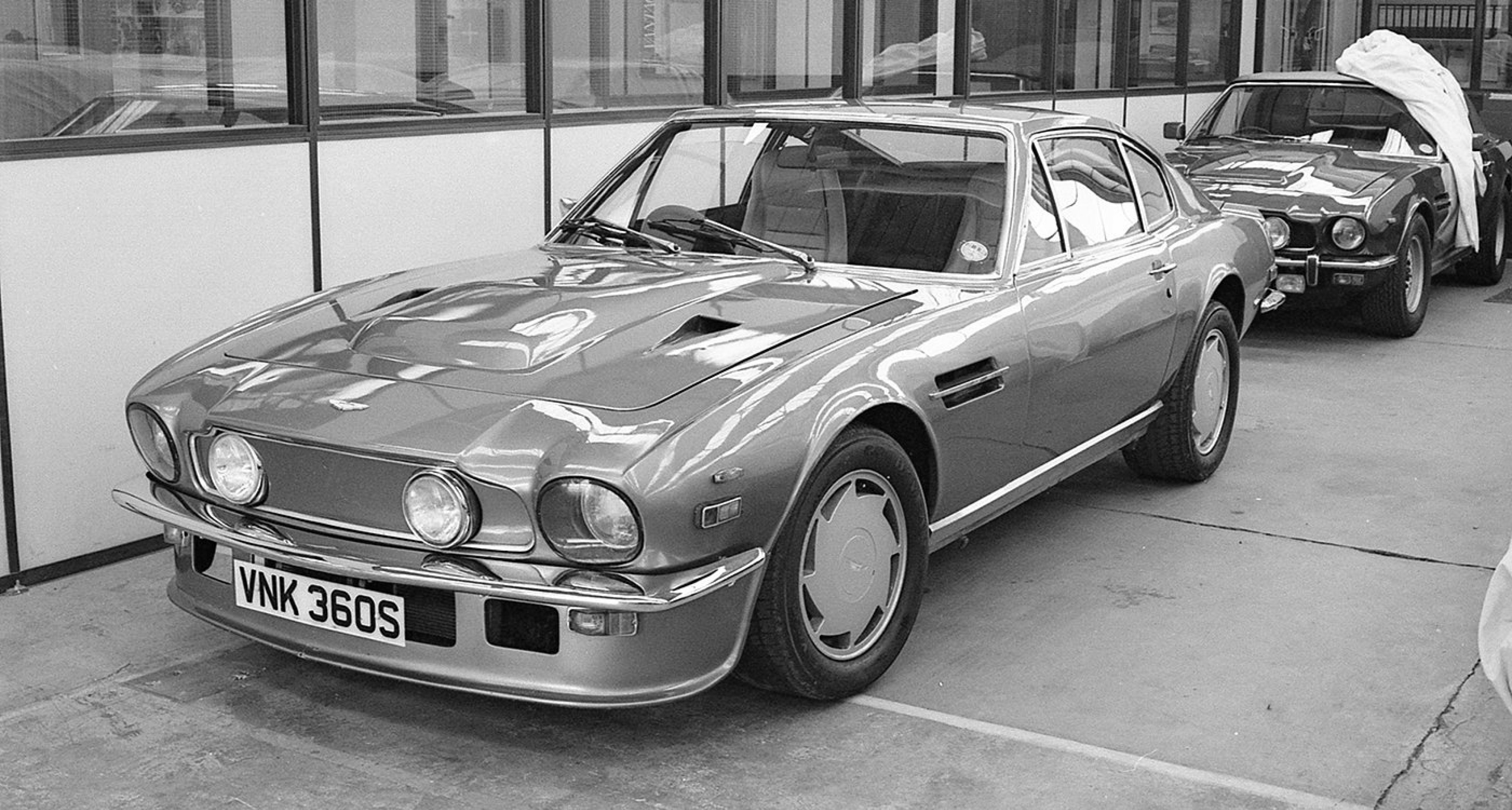 This very special V8 Vantage, known as VNK360S after its registration, was employed by Aston Martin Lagonda as a factory prototype and trialled almost every significant enhancement of the model. It was subsequently used as the mule for the V8 Zagato.