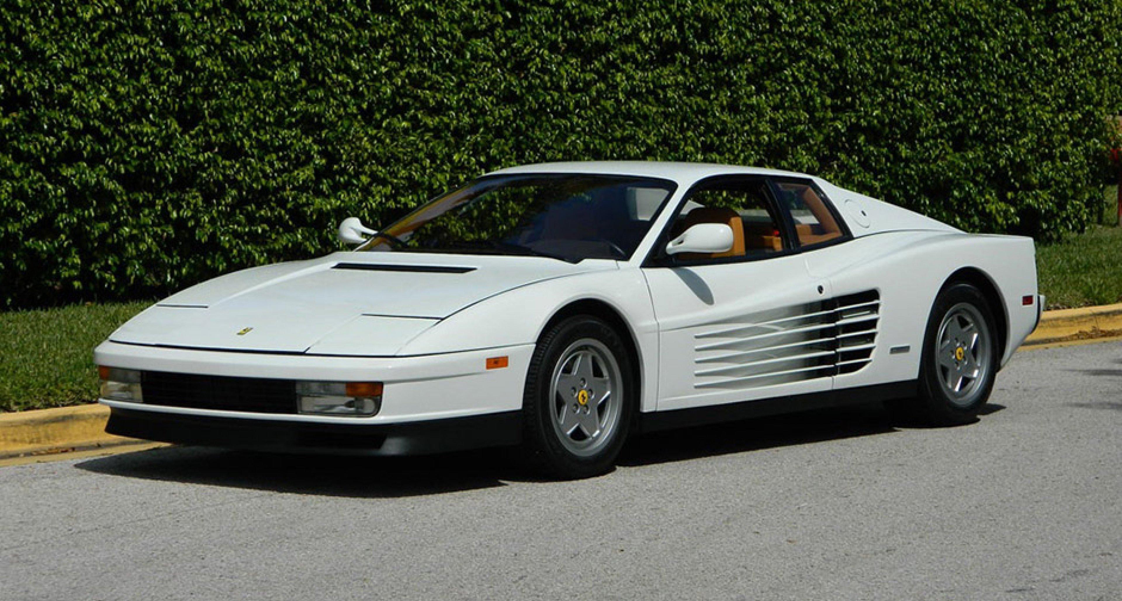 The Wolf Of Wall Street S Other Car Was A Ferrari Testarossa Classic Driver Magazine
