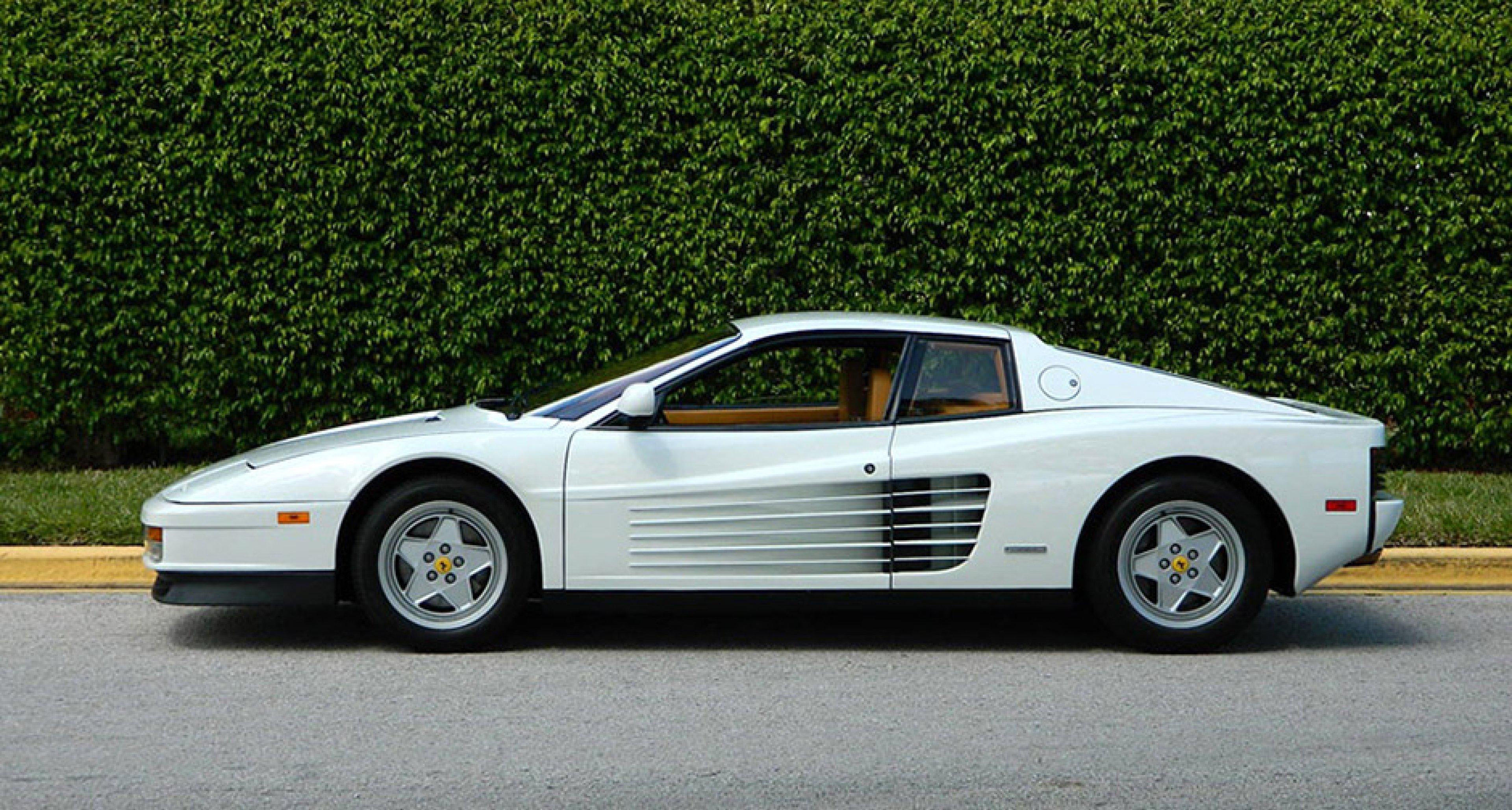 The Wolf Of Wall Street S Other Car Was A Ferrari Testarossa