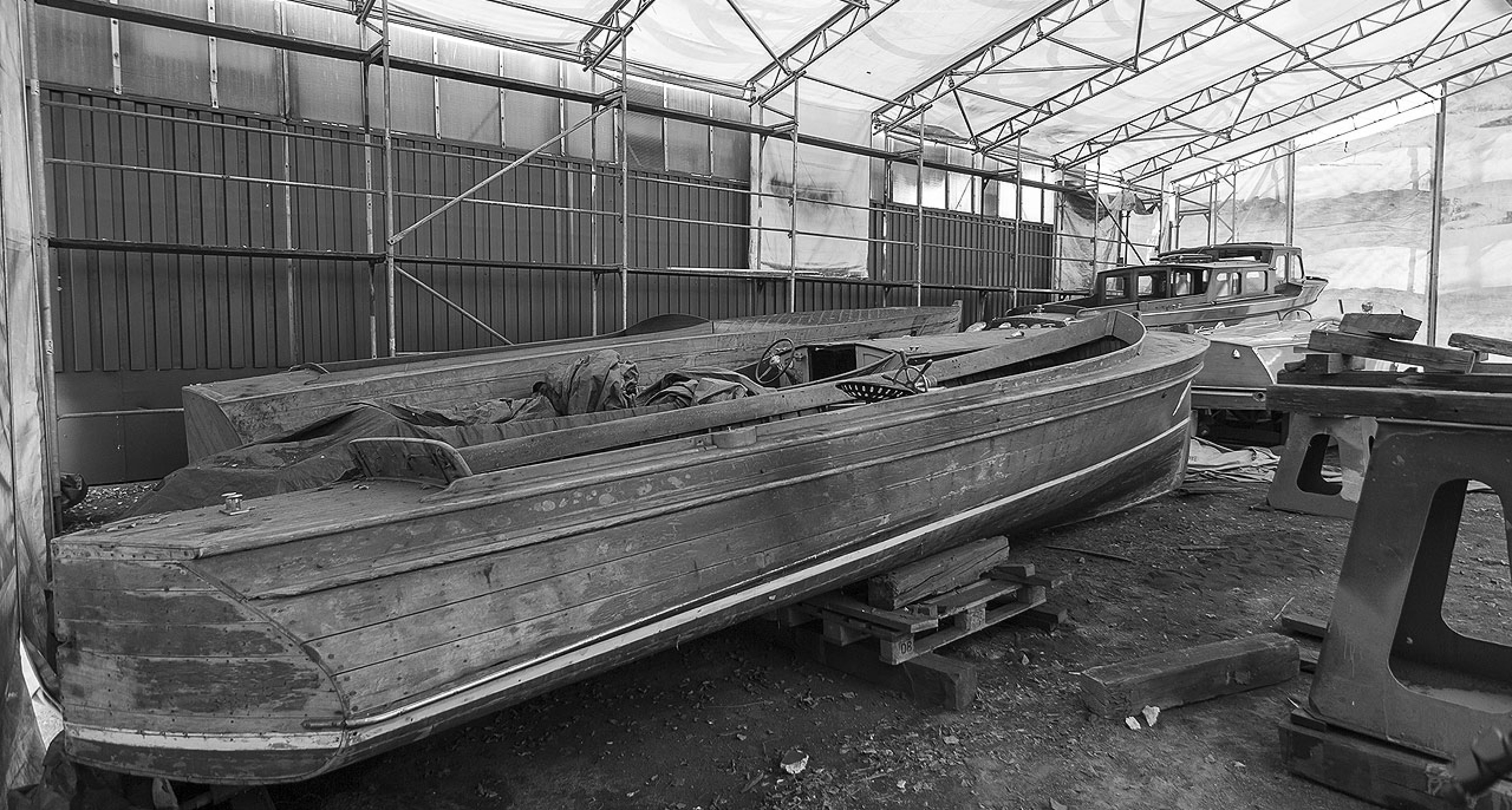 Nautical barnfind – Seven forgotten vintage wooden boats rediscovered and now up for sale at Classic Driver