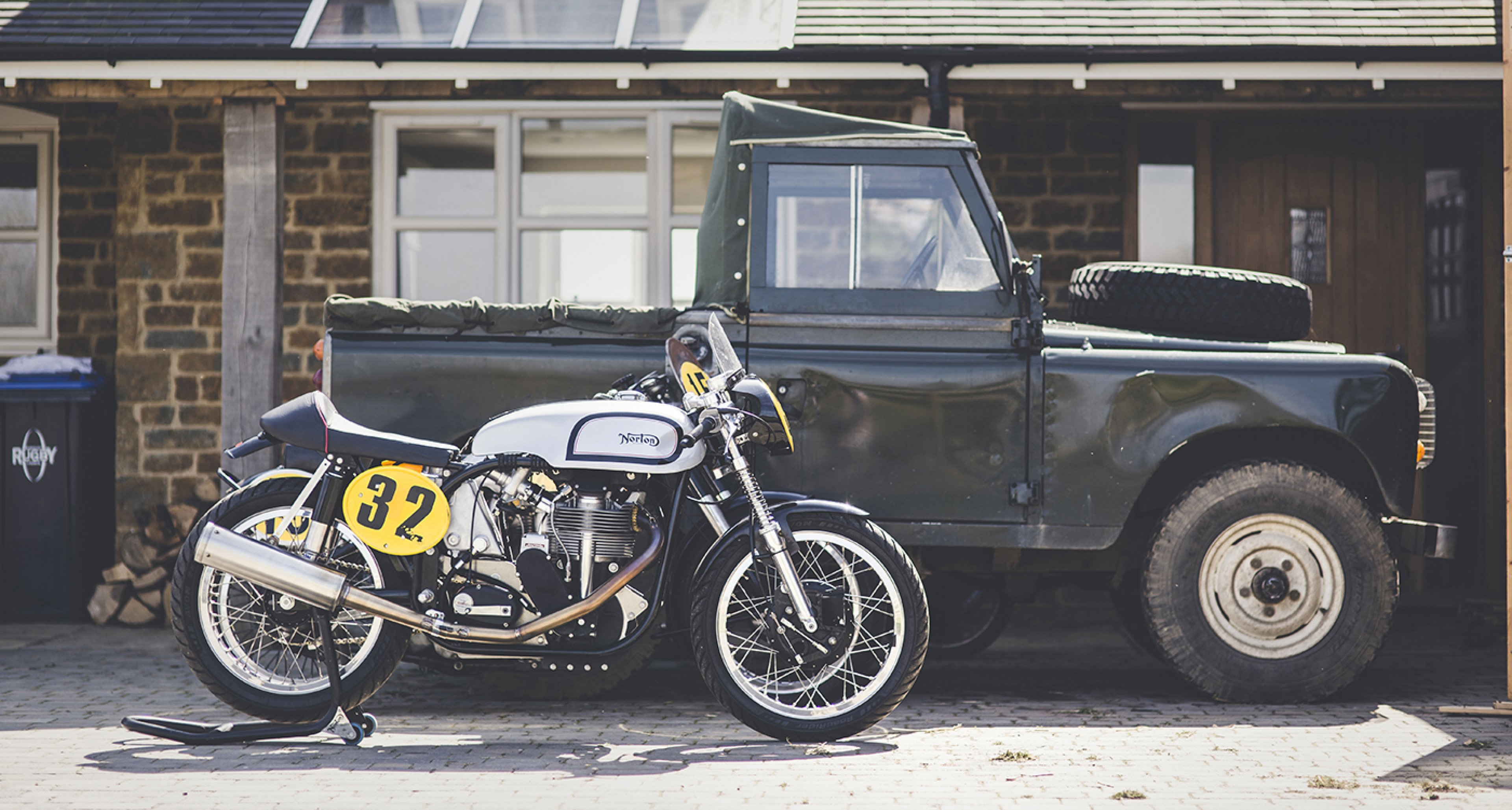 Works Racing Motorcycles Wolves Among The Manx Sheep Classic