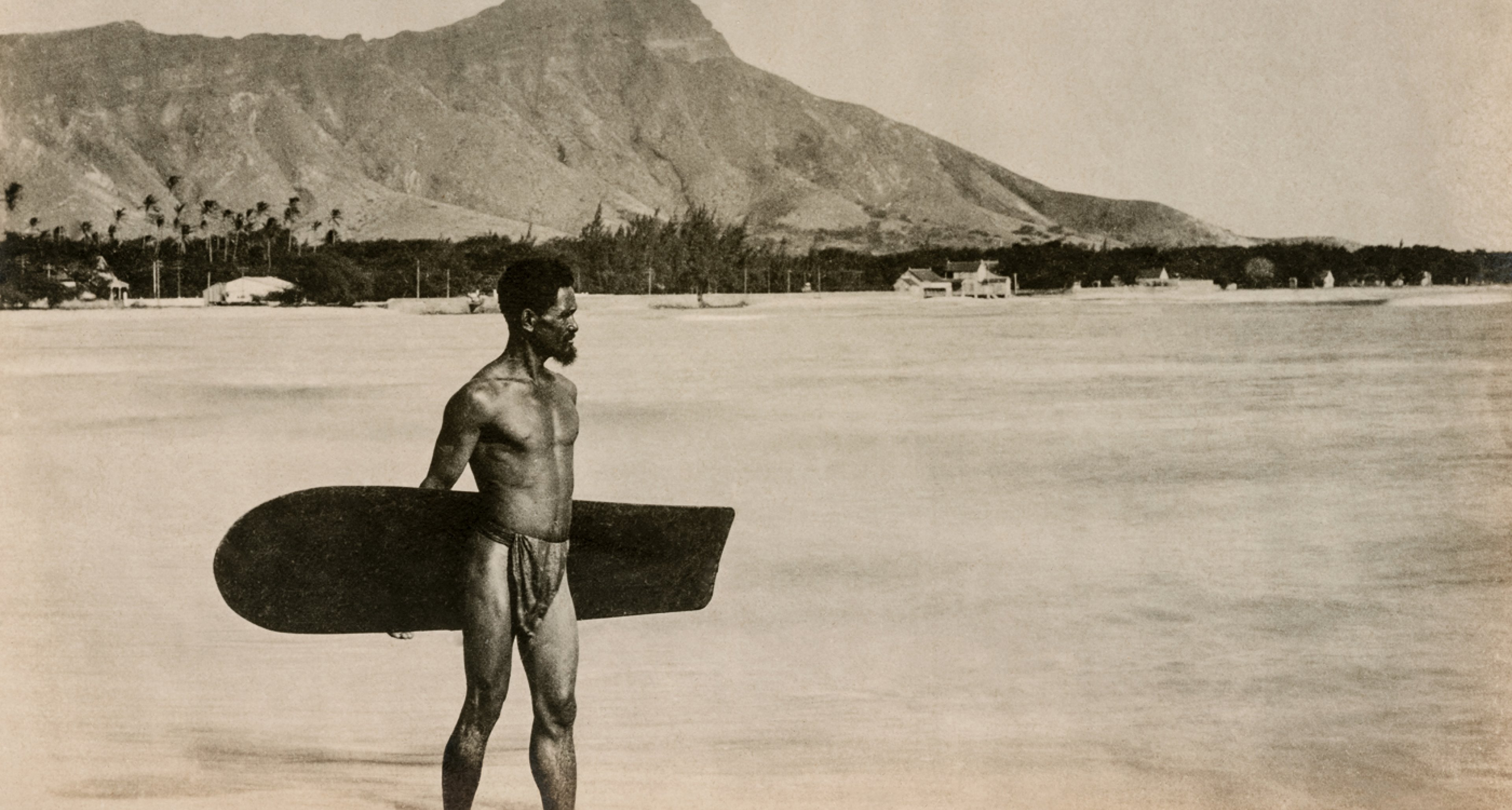 Waikiki, ca. 1890. Courtesy Jim Heimann Collection / TASCHEN