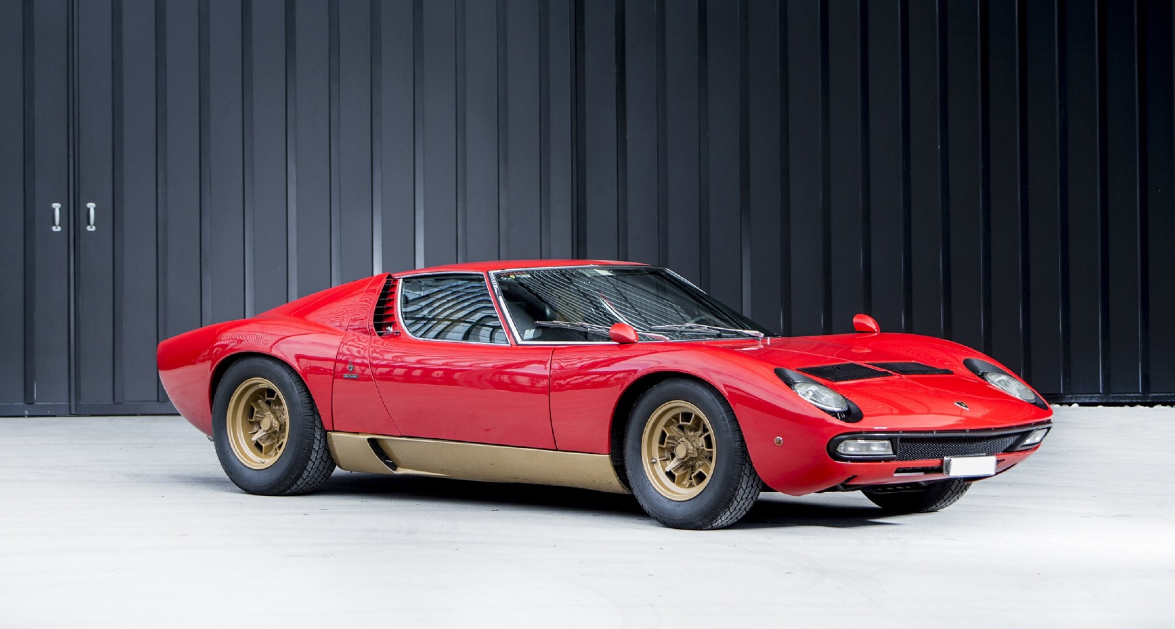 Lamborghini Miura Considered The Worlds Most Original Sv