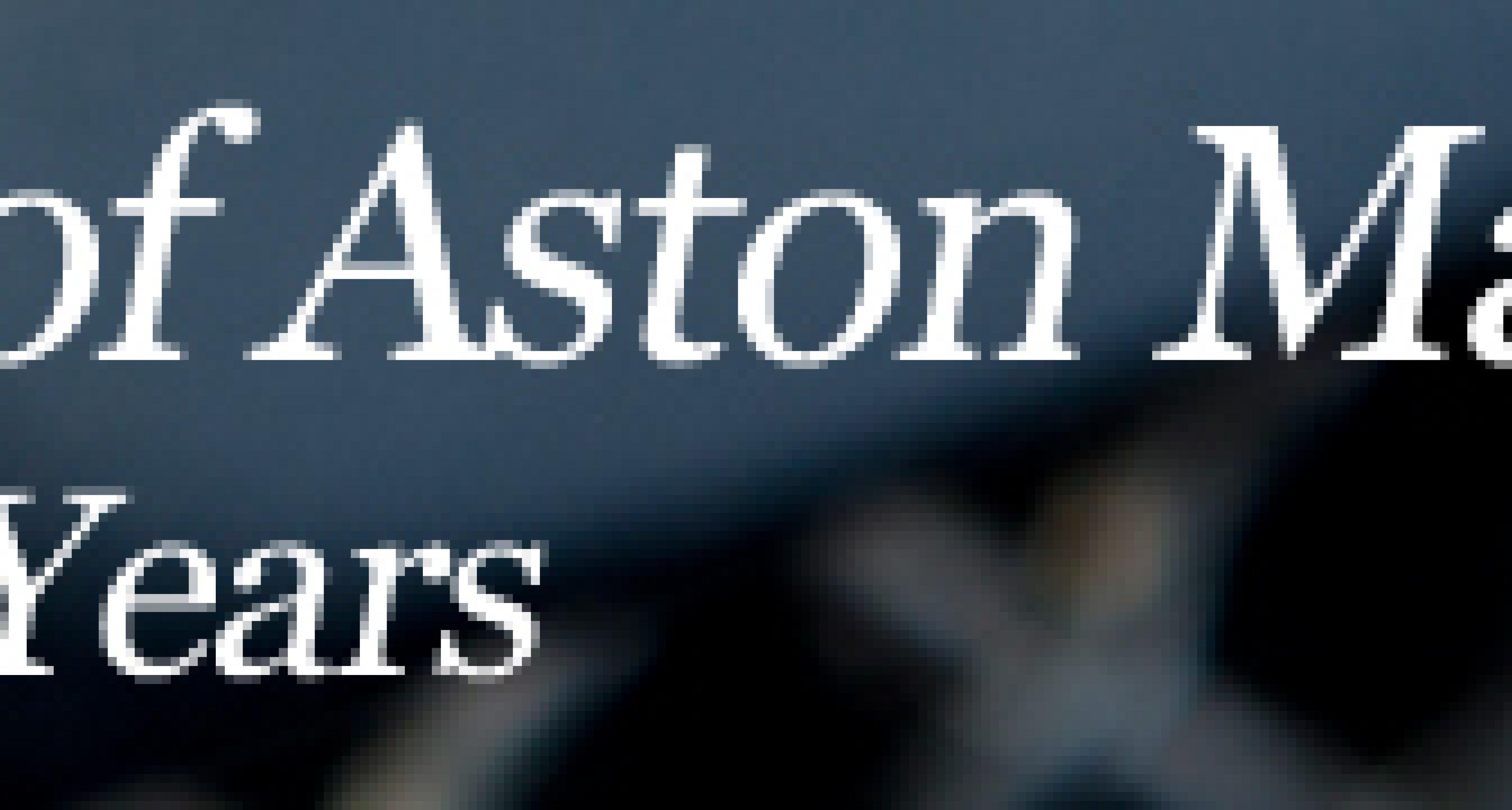 Aston Martin – The Pre-War Years