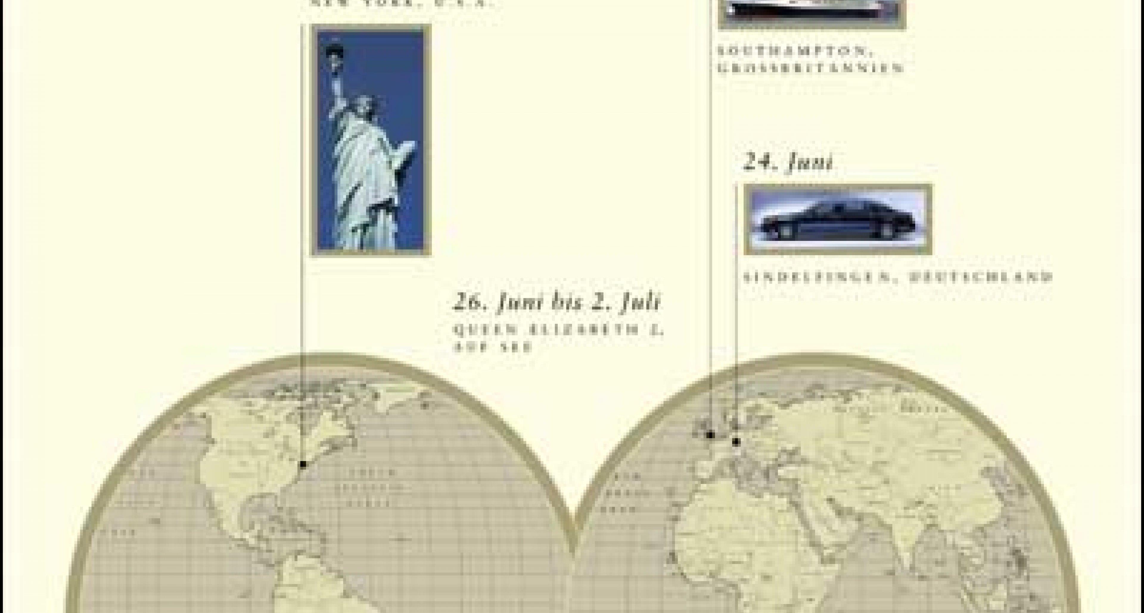 Maybach: Countdown zur Weltpremiere