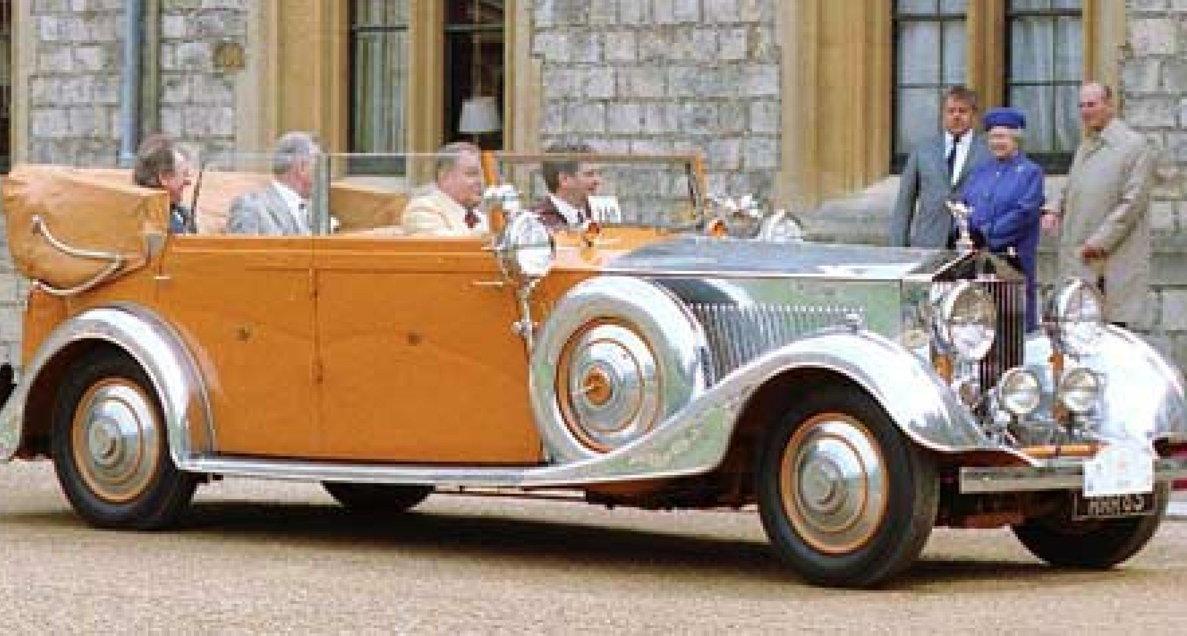 Rolls-Royce-Sammler Hans-Günter Zach