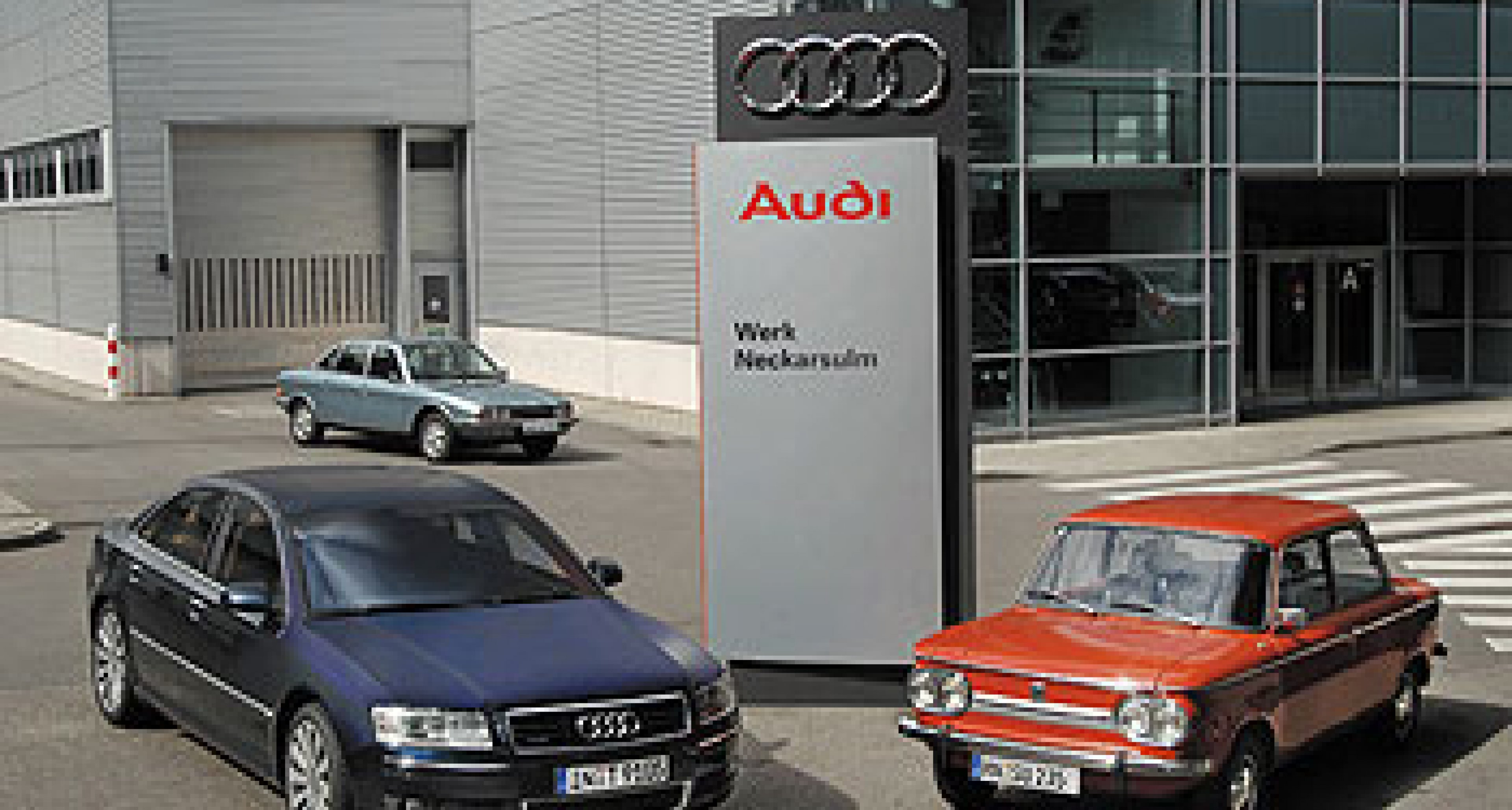 Audi in Neckarsulm: Fünf Millionen Autos