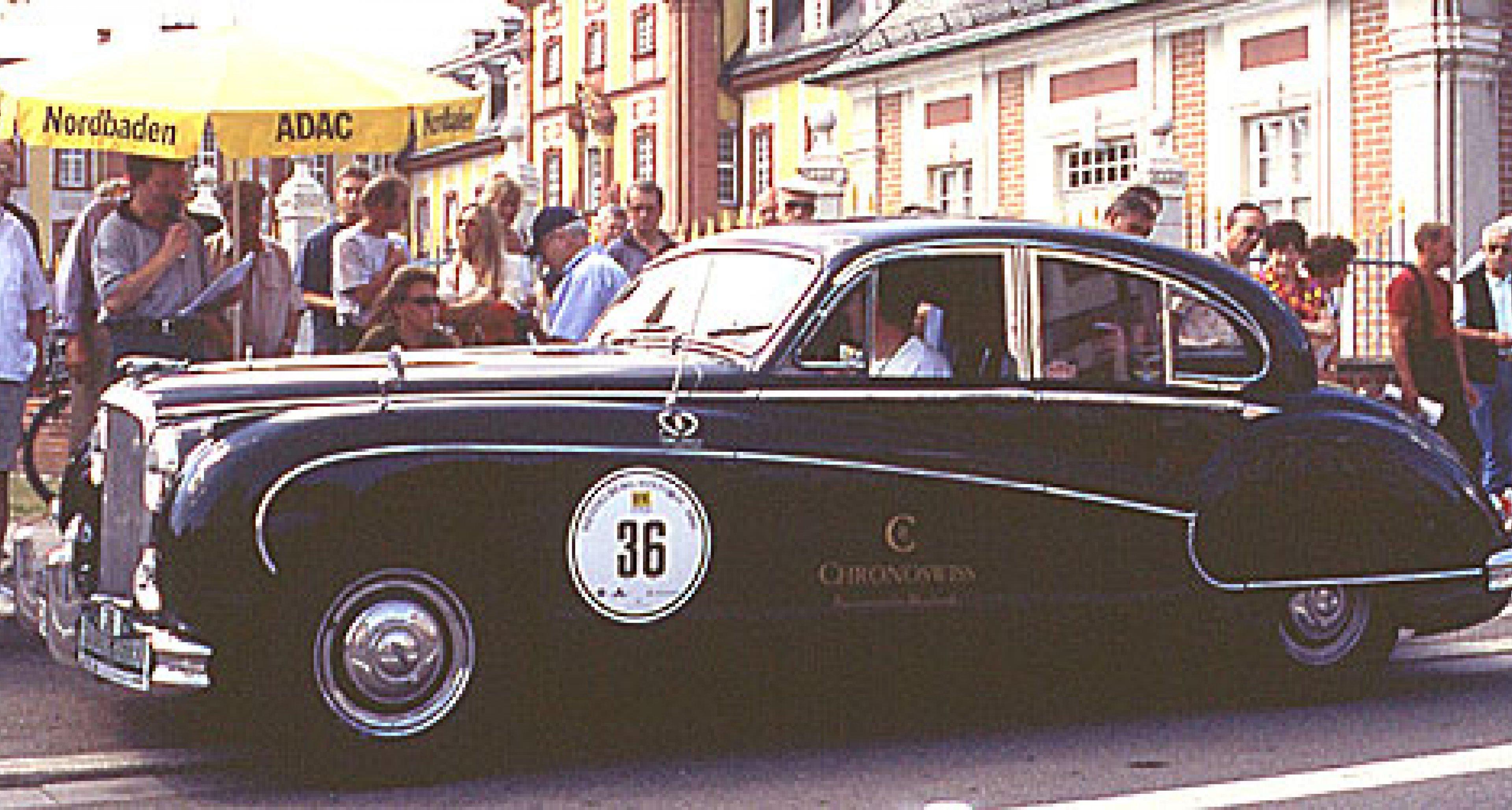 Großer Andrang bei der Rallye Heidelberg Historic