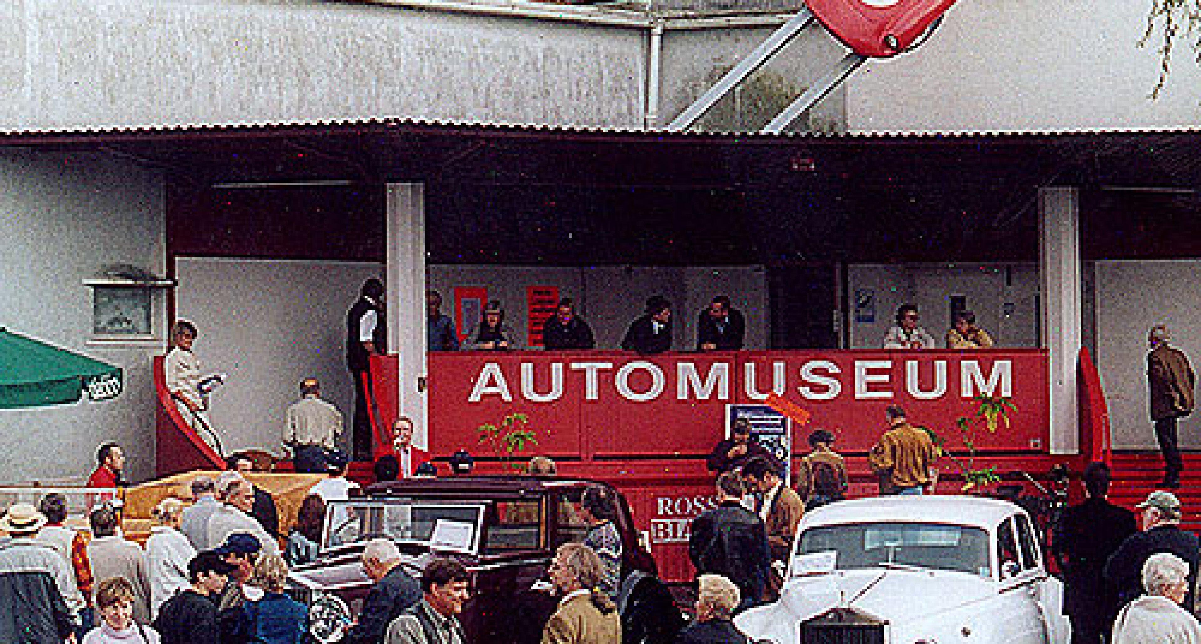 Equipe Stenger im Museum Rosso Bianco