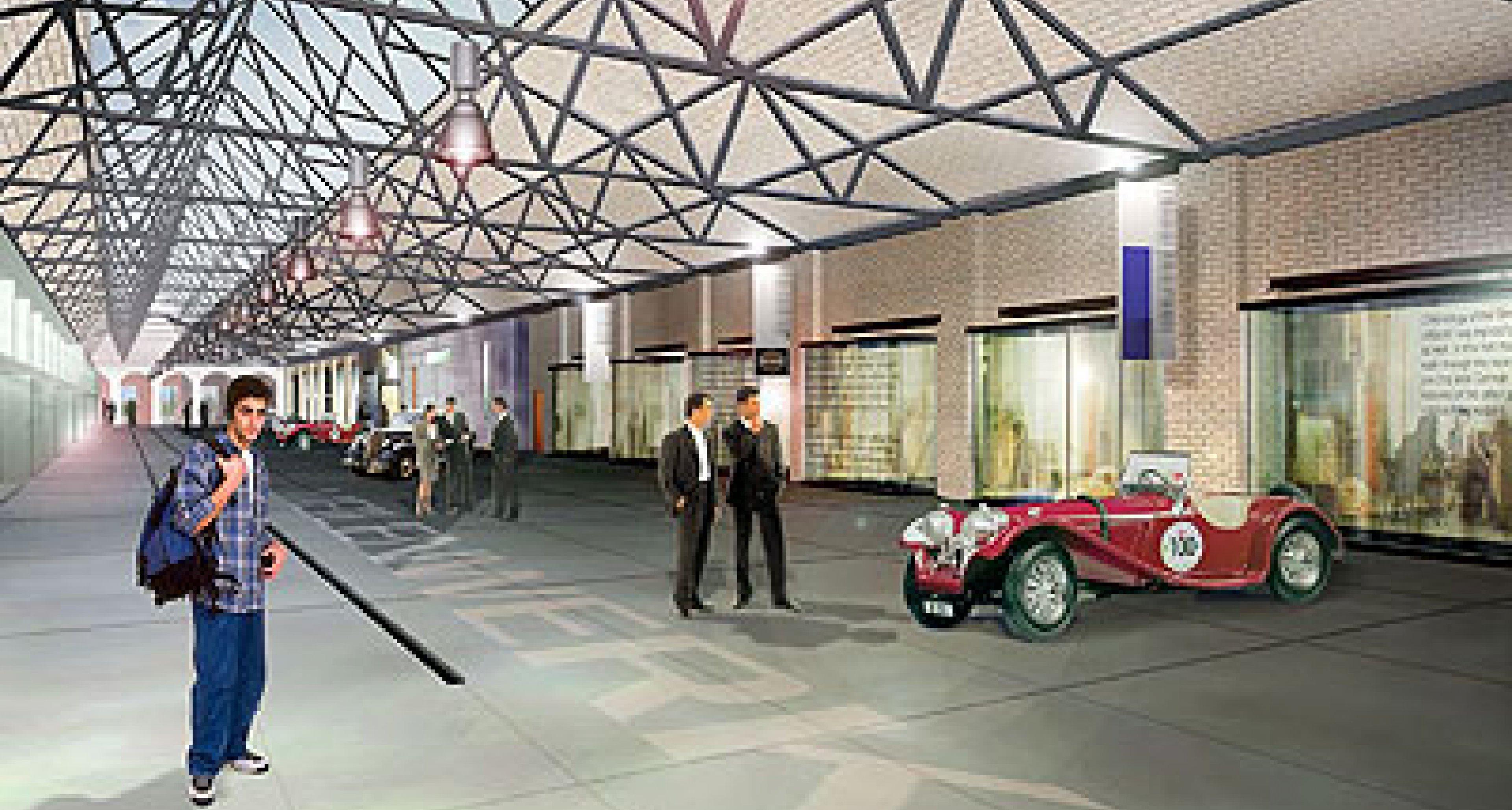 Meilenwerk Berlin: Neue Autostadt für Oldtimer