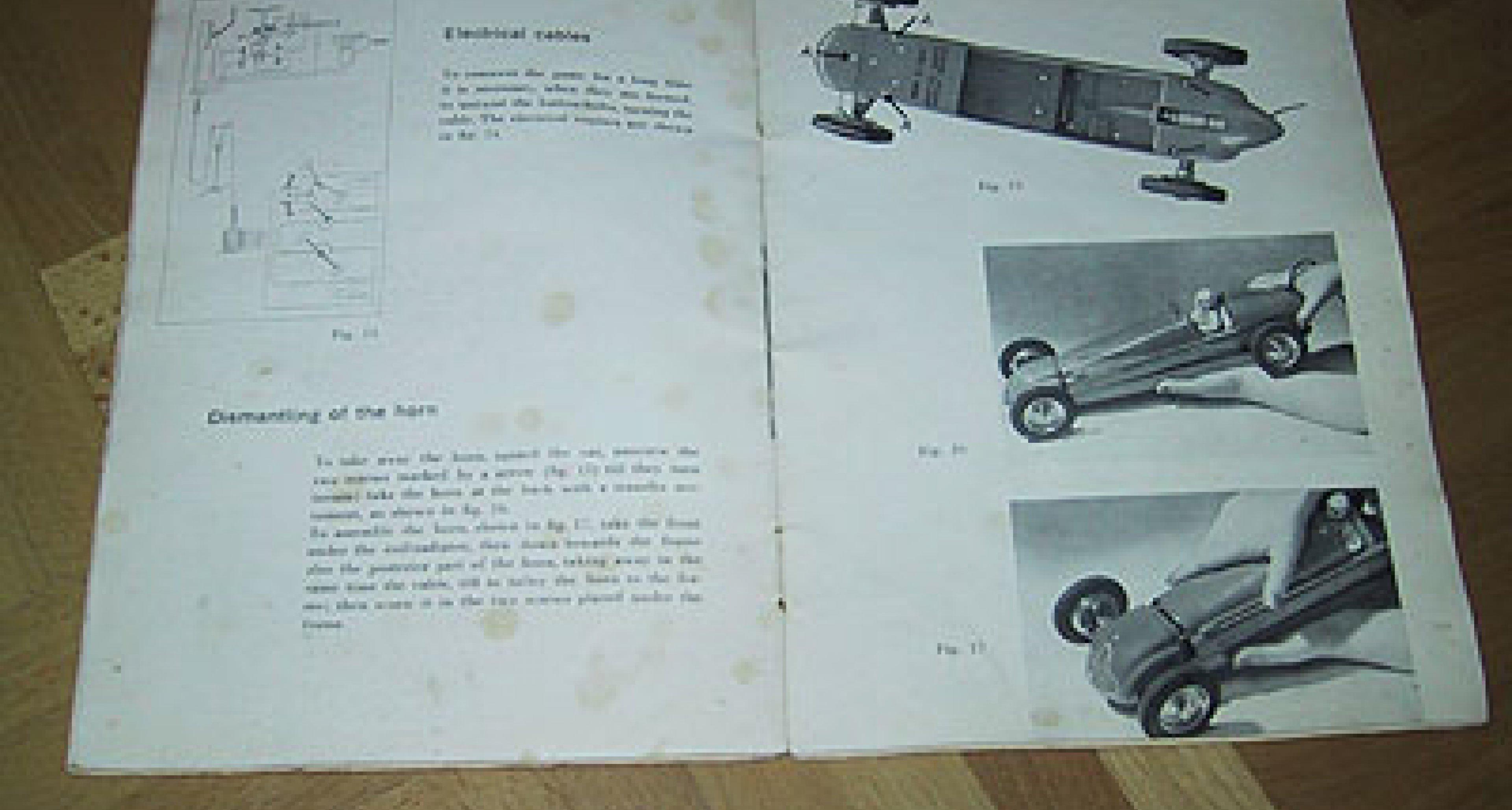 Maserati Tipo 8CLT: Seltenes Blechmodell