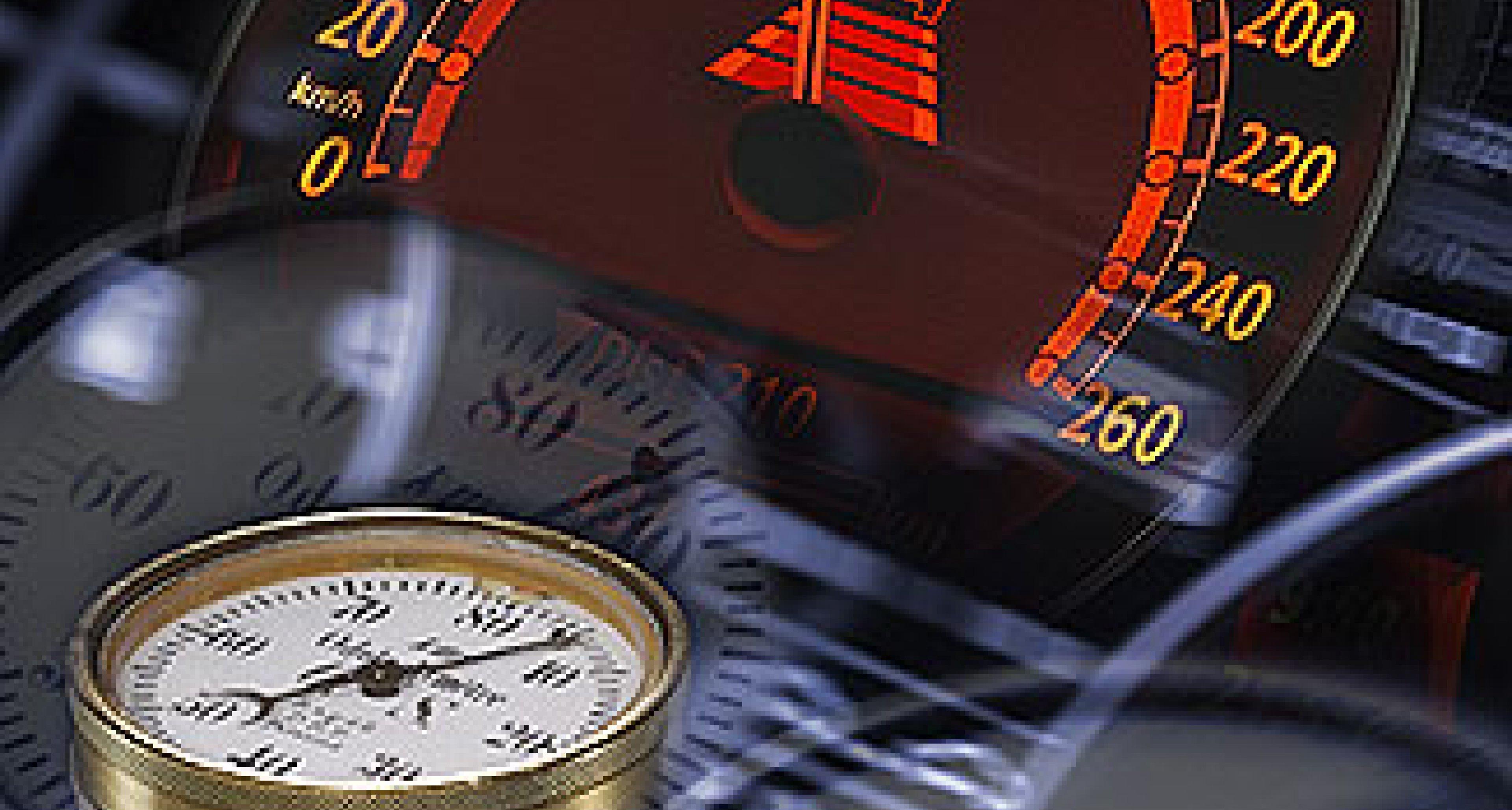Die Geschichte des Tachometers