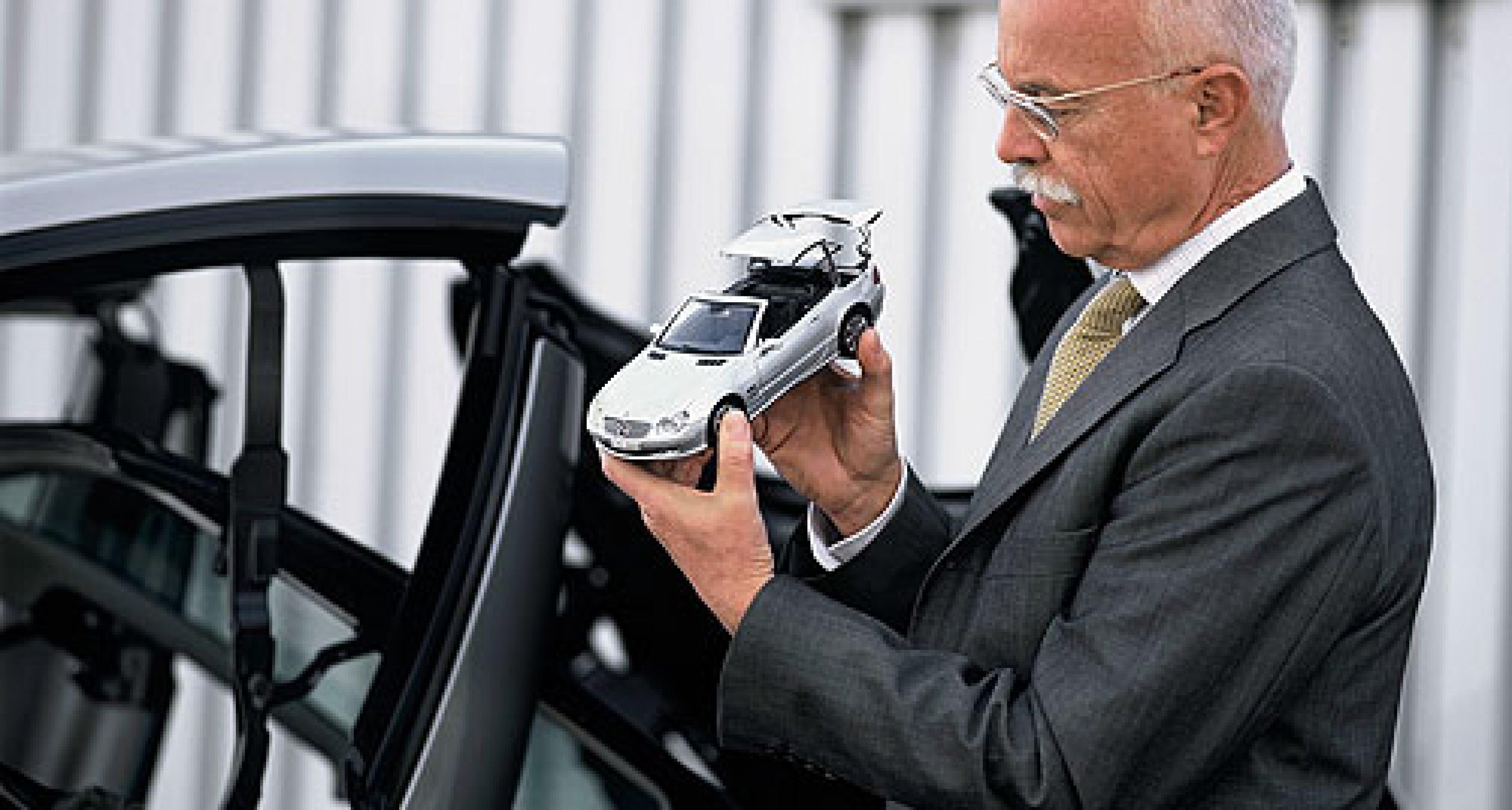 Mercedes-Benz SL: Für den Gabentisch
