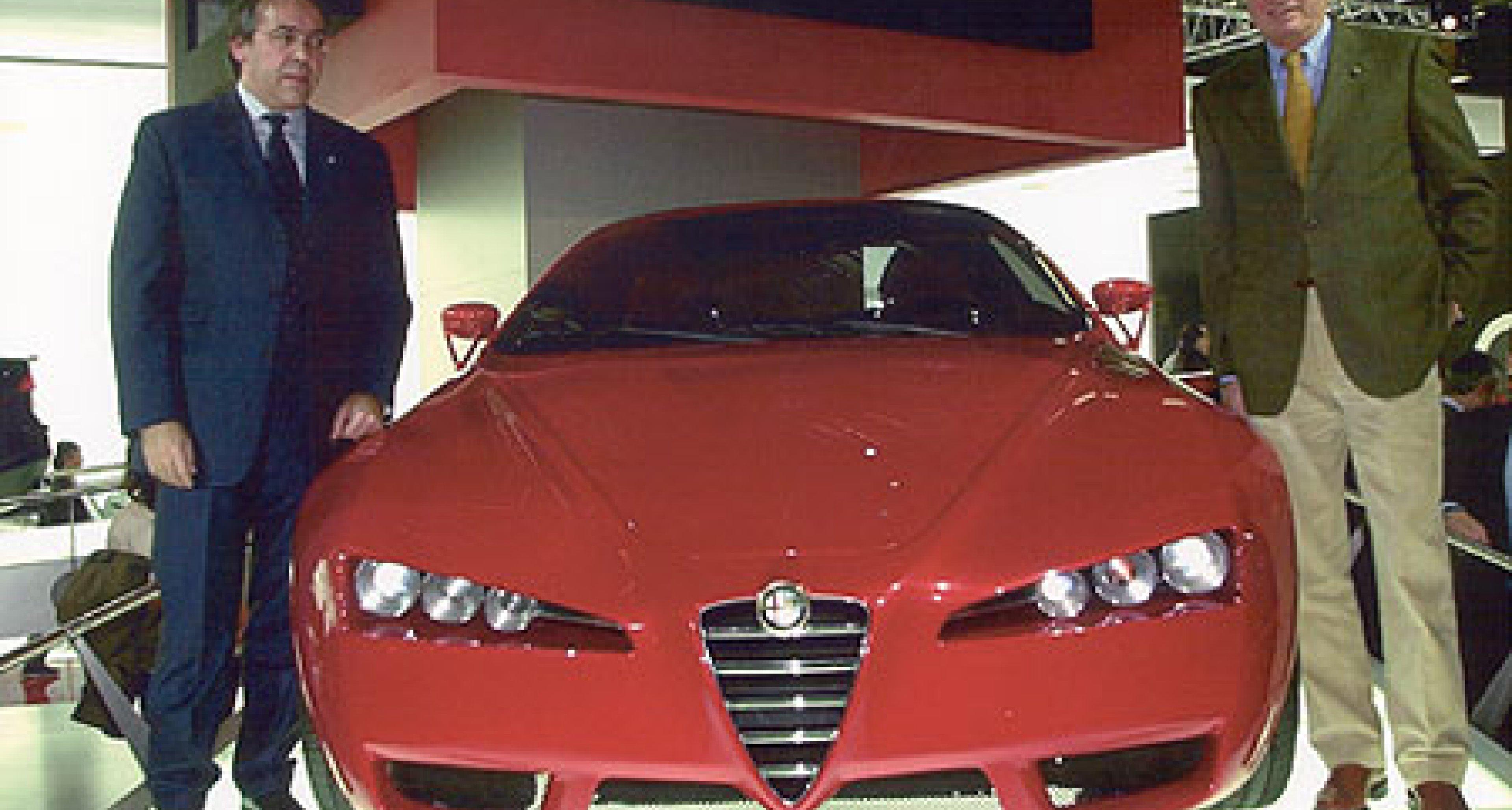 Alfa 156 GTAm und Brera: Faszinierende Zukunftsaussichten