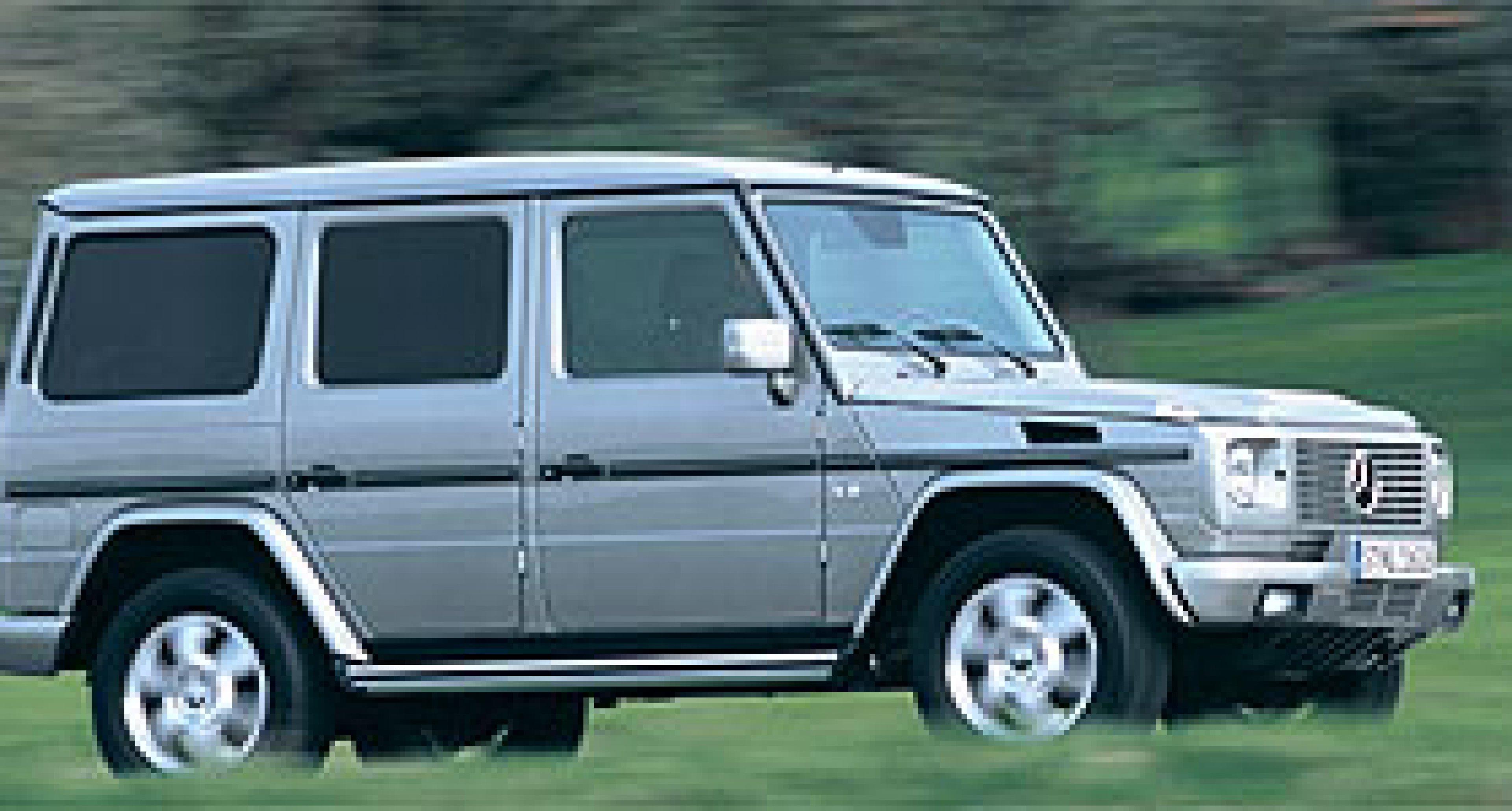 Mercedes-Benz G-Klasse: Geländewagen des Jahres 2003