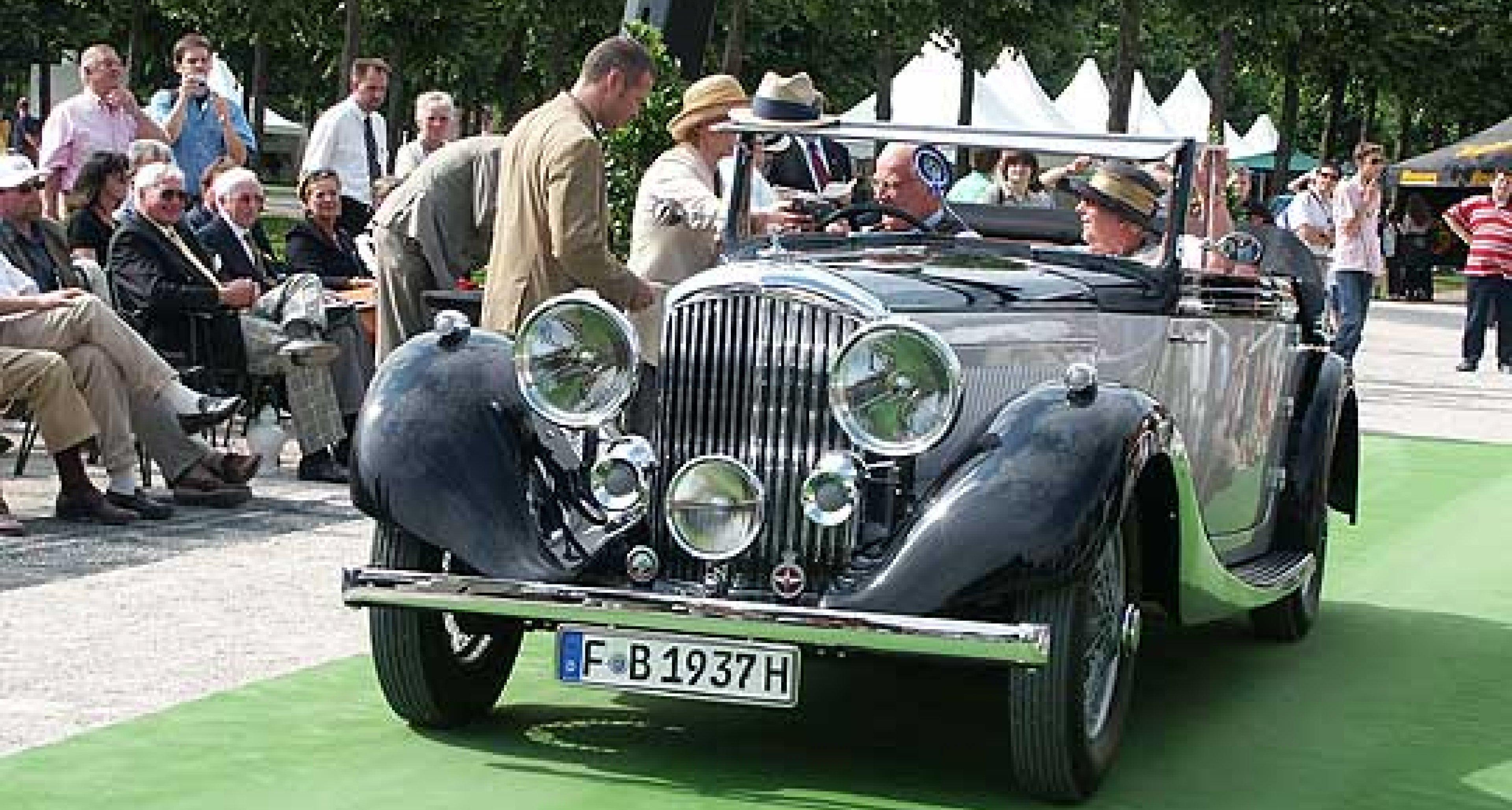 Vorschau European Concours d'Elegance 5. und 6. Juli 2003