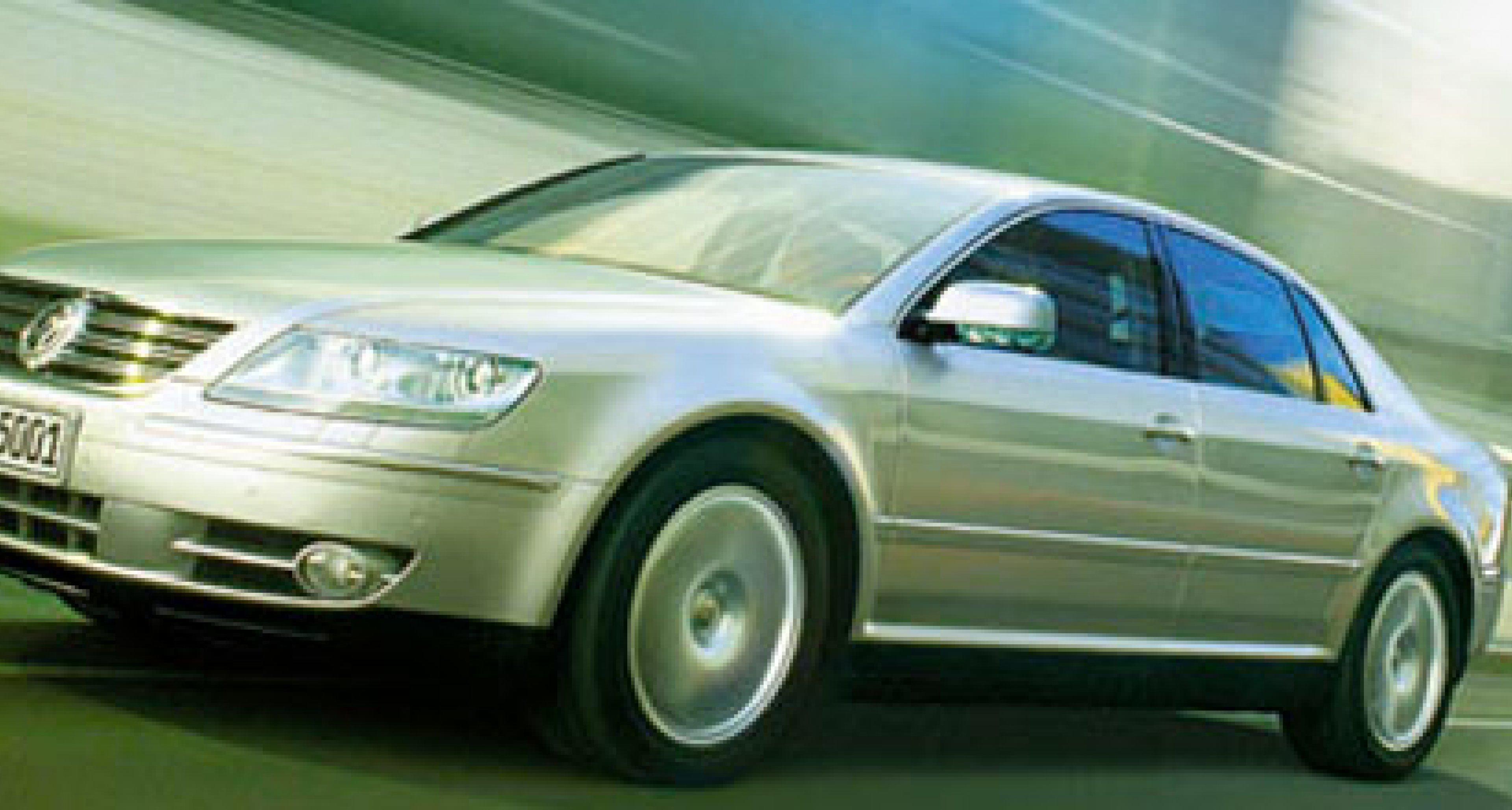 Volkswagen Phaeton: V10 TDI mit 313 PS