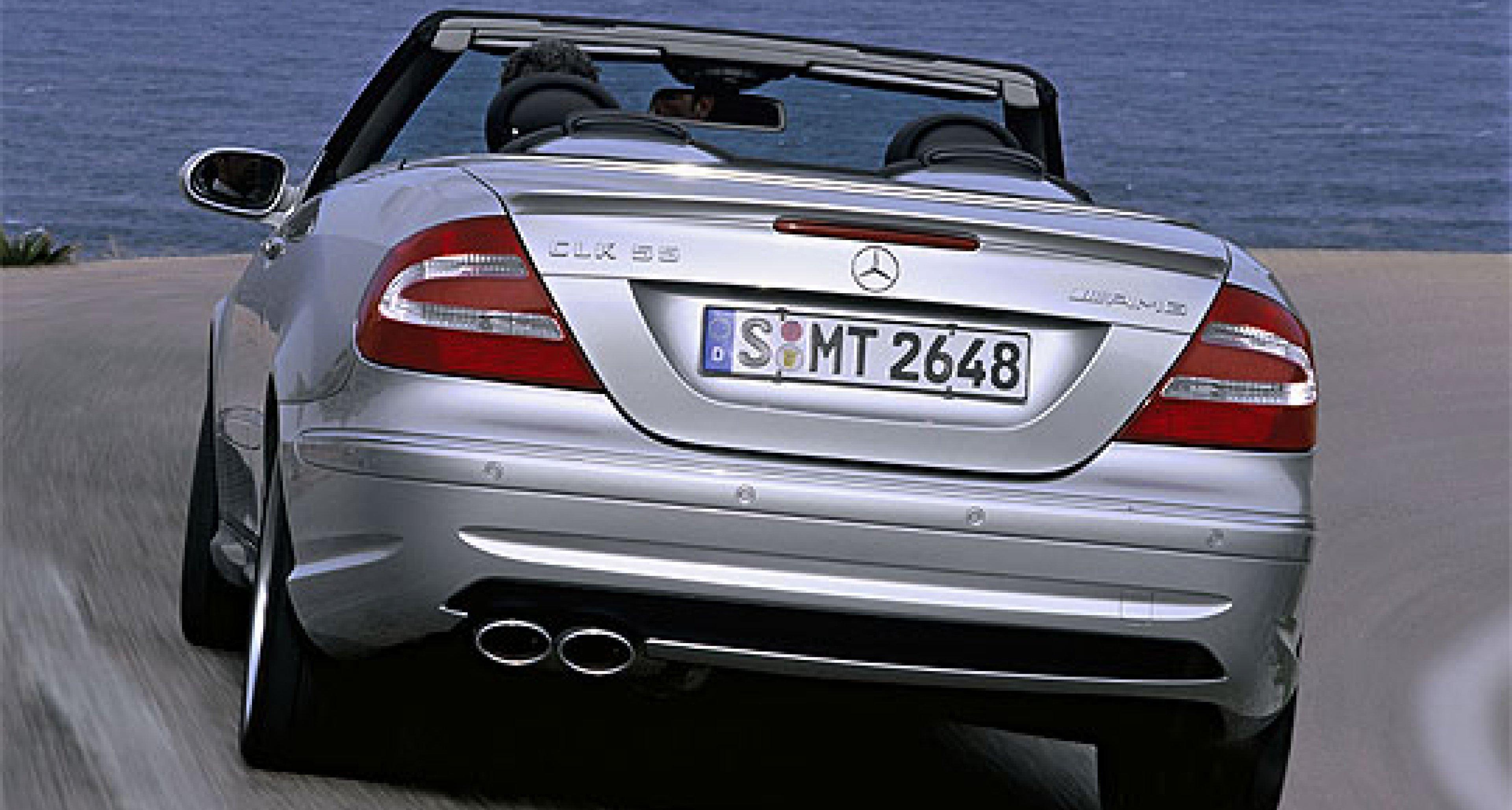 Mercedes-Benz CLK 55 AMG Cabriolet