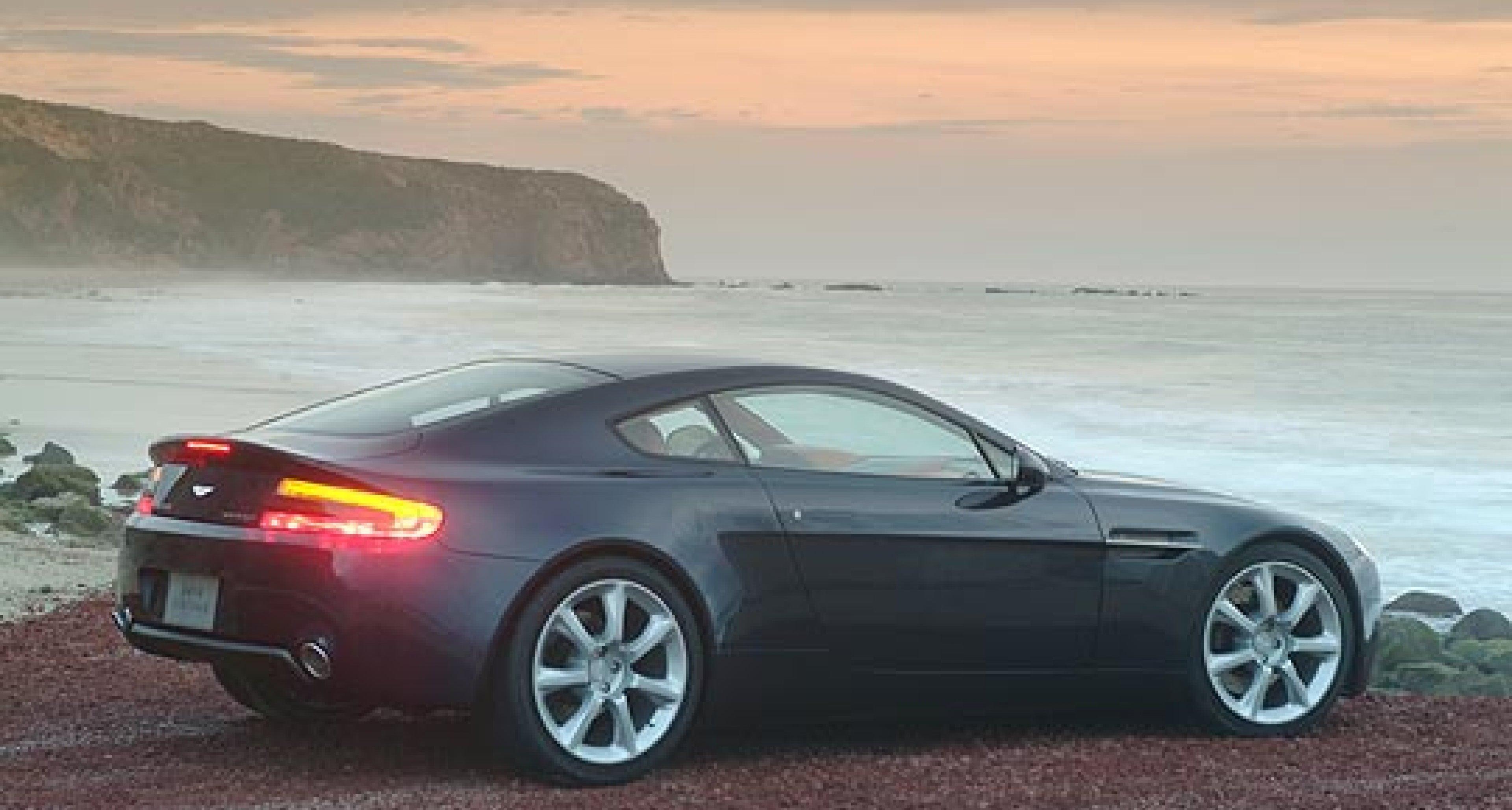 Aston Martin AMV8 Vantage: Neue exklusive Fotoaufnahmen