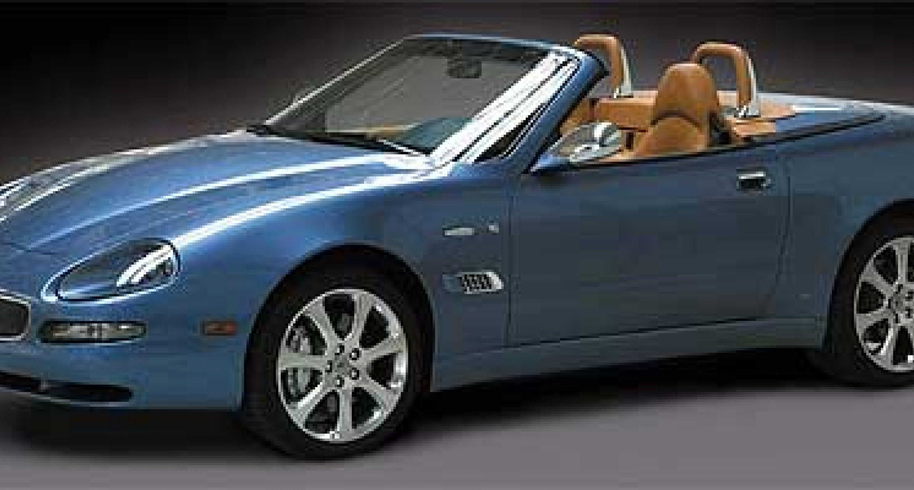 Vintage Personalization Program for Maserati Spyder